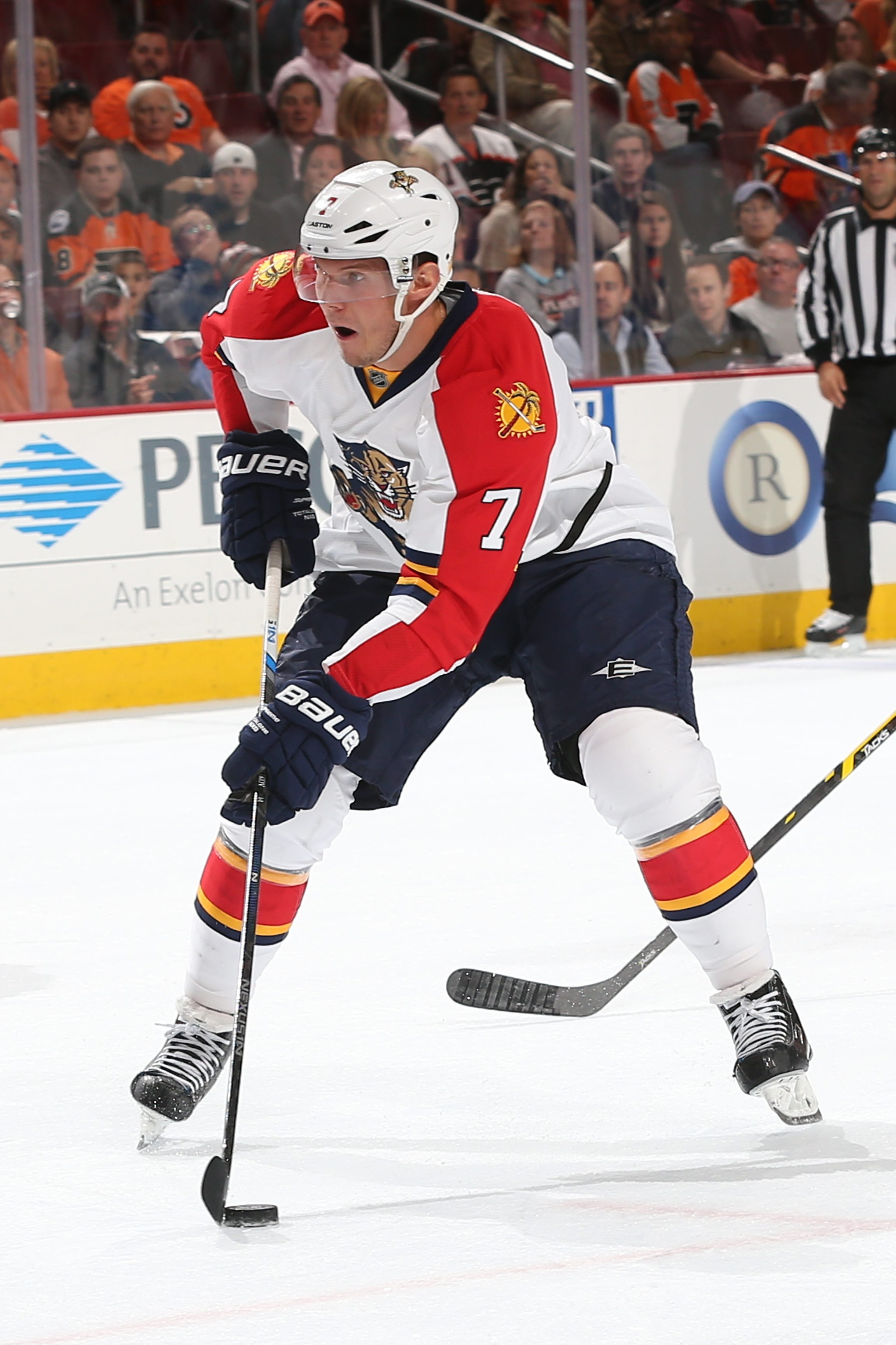 Dmitry Kulikov played in all the important situations with the Florida Panthers.