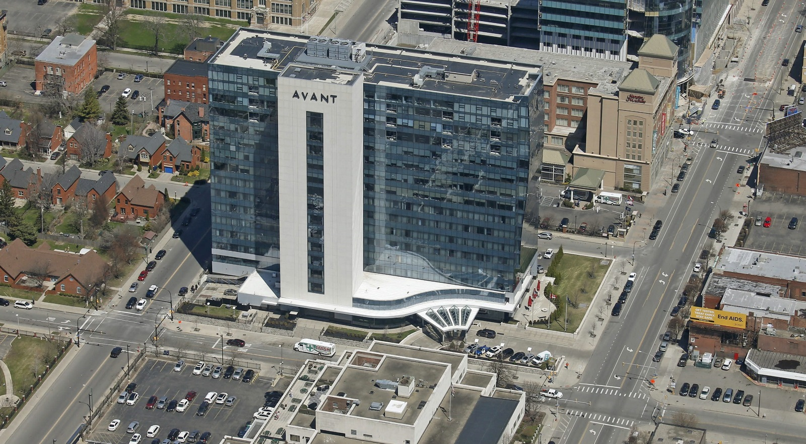 A condo in the Avant building downtown  sold for $1.05 million. (Robert Kirkham/News file photo)