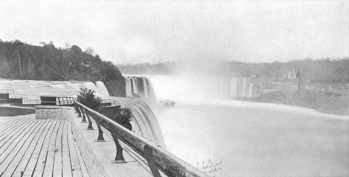 American fall in 1895 from Prospect Point