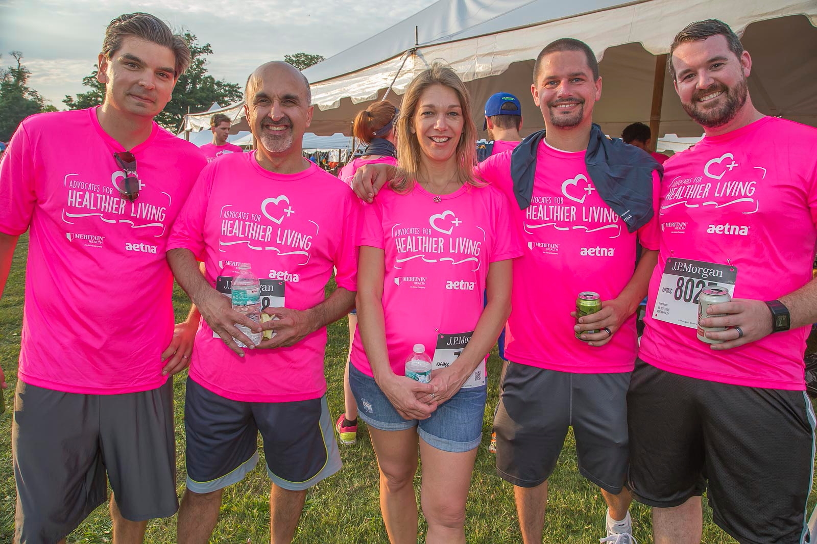 Advocates For Healthier Living at the 2015 Corporate Challenge. (Don Nieman/Special to The News)