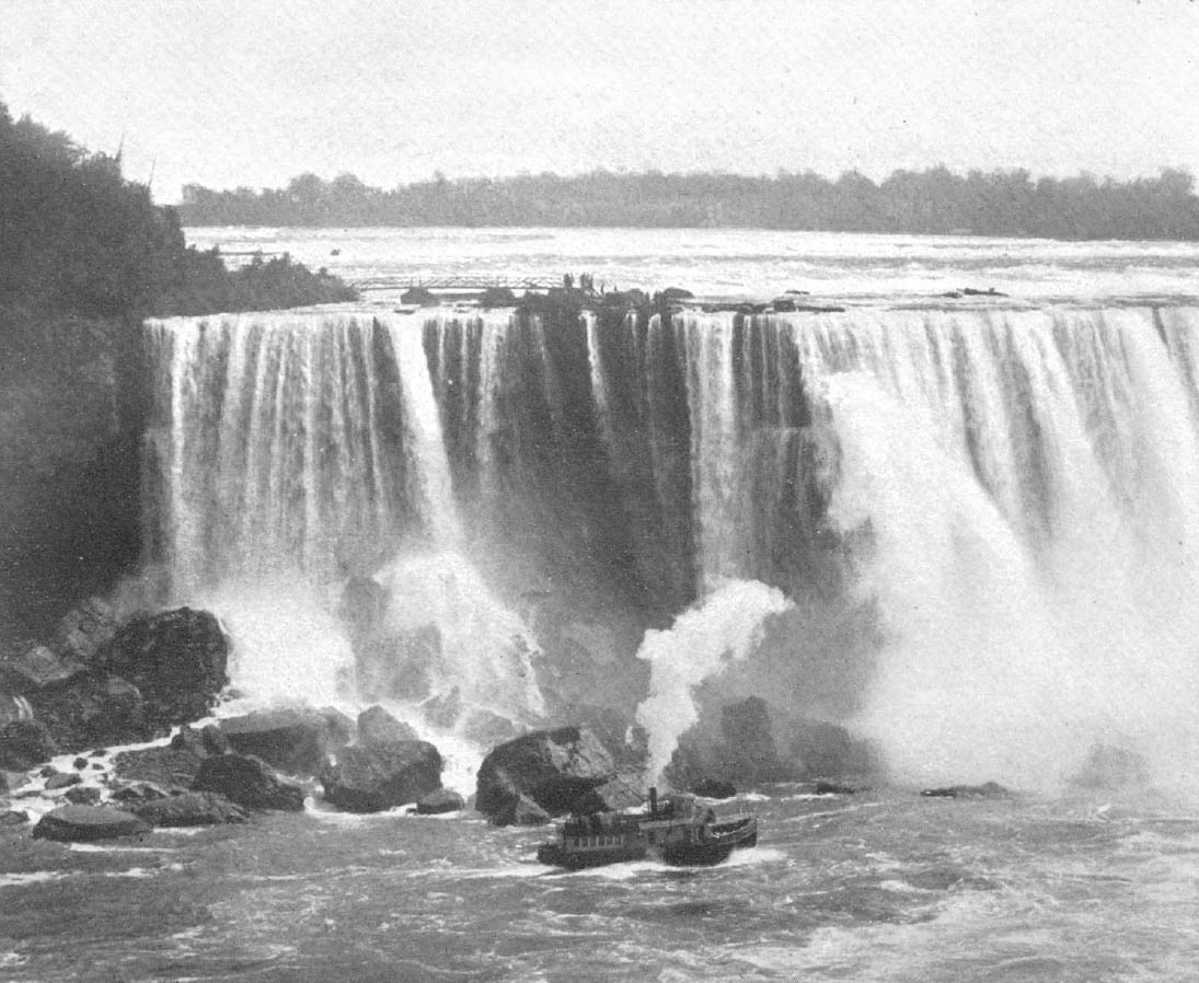 Eastern part of Horseshoe Falls 1885