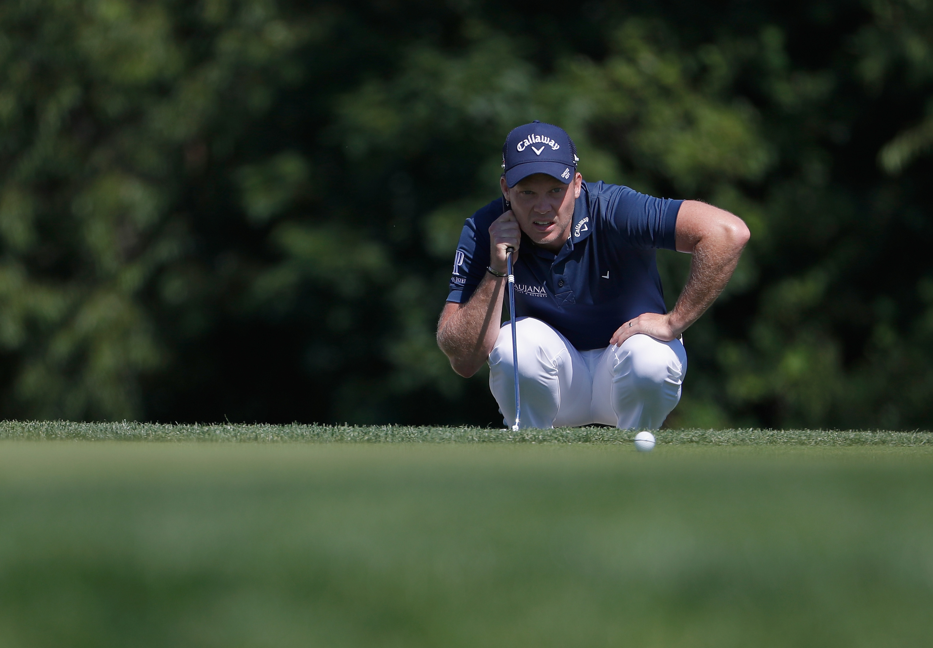 Danny Willett did not have a good week on the greens at Oakmont Country Club. (Getty Images)