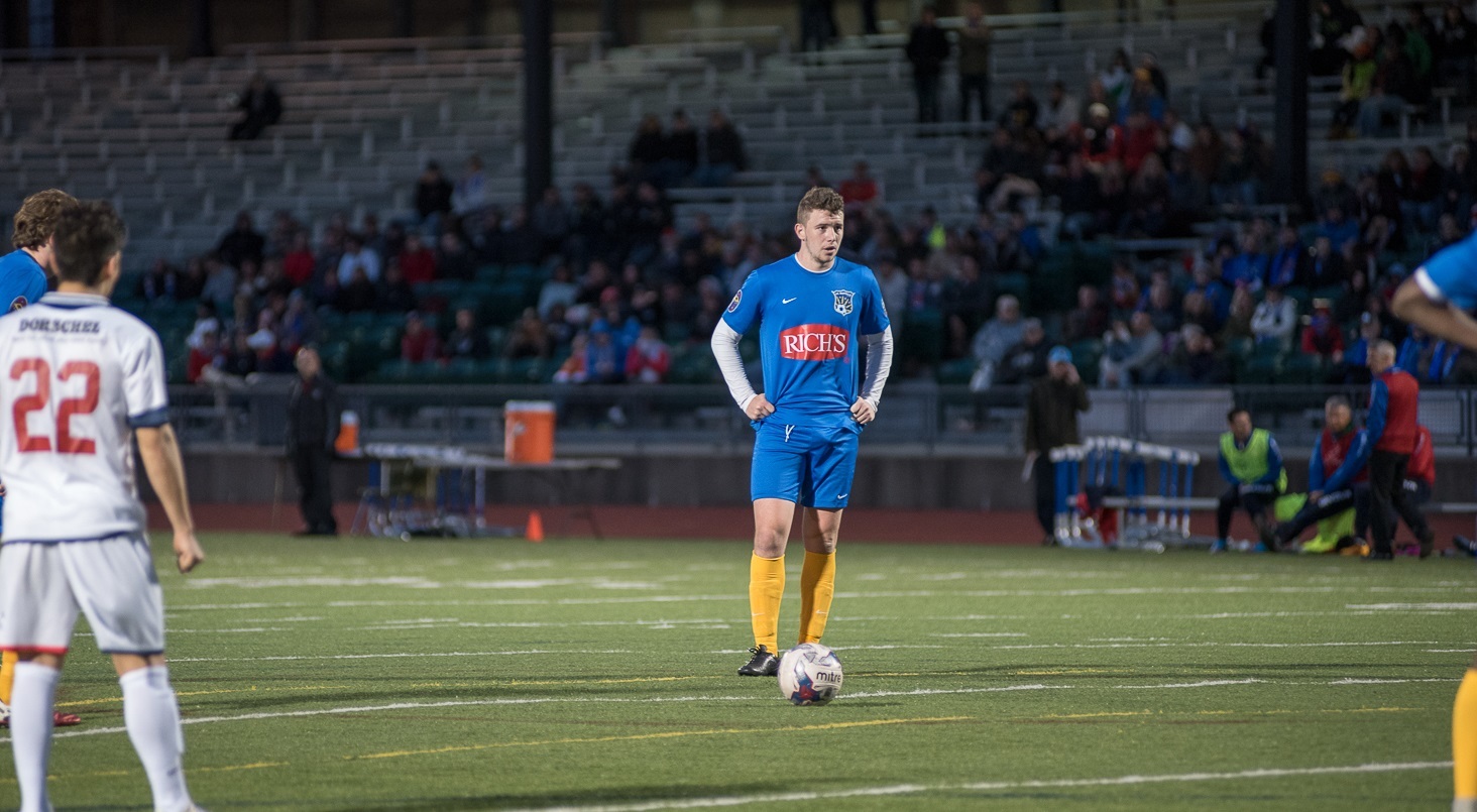 Toland, a soon-to-be junior at St. Bonaventure, joins the podcast to talk about the FC Buffalo season so far. (Matt Weinberg/Special to The News)