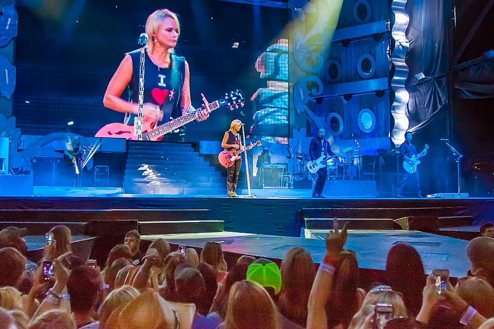 Country star Miranda Lambert performs at Darien Lake in 2014. (Don Nieman/Special to The News)