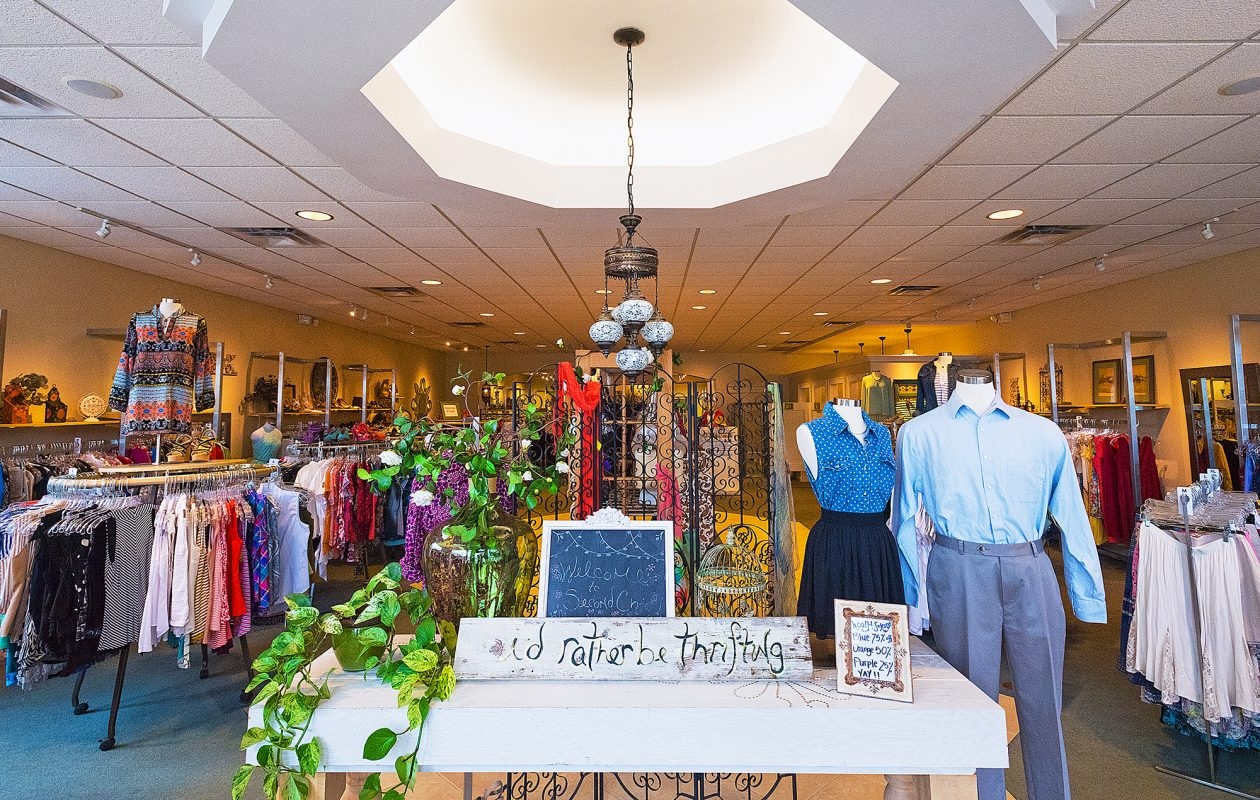 Local consignment store Second Chic is a re-invention of the genre, with carefully curated items and a boutique-like feel. (Michael P. Majewski)