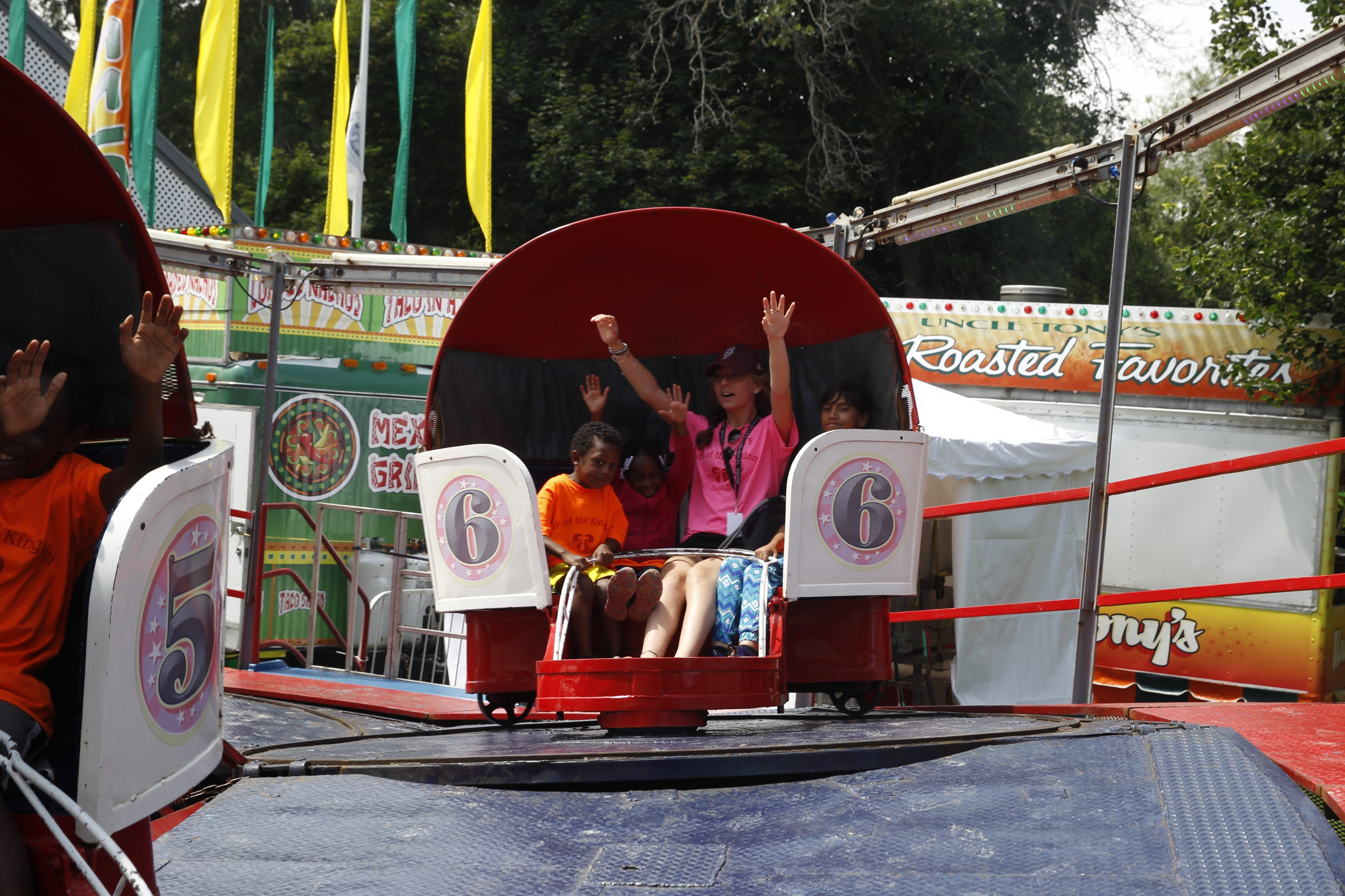 Take the kids on a ride at the annual Old Home Days celebration on Island Park in Williamsville. It's one of the many family friendly events held locally throughout the summer. (John Hickey/Buffalo News file photo)