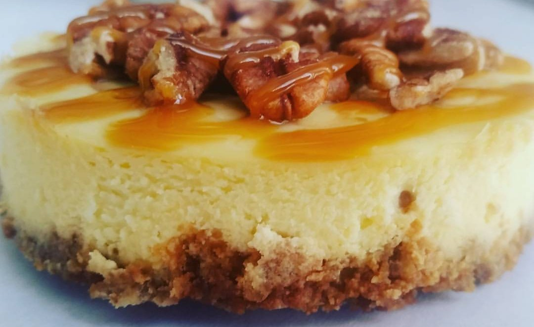 Salted caramel cheesecake has been one of the flavors offered by the Cheesecake Guy truck. (Photo: Cheesecake Guy)
