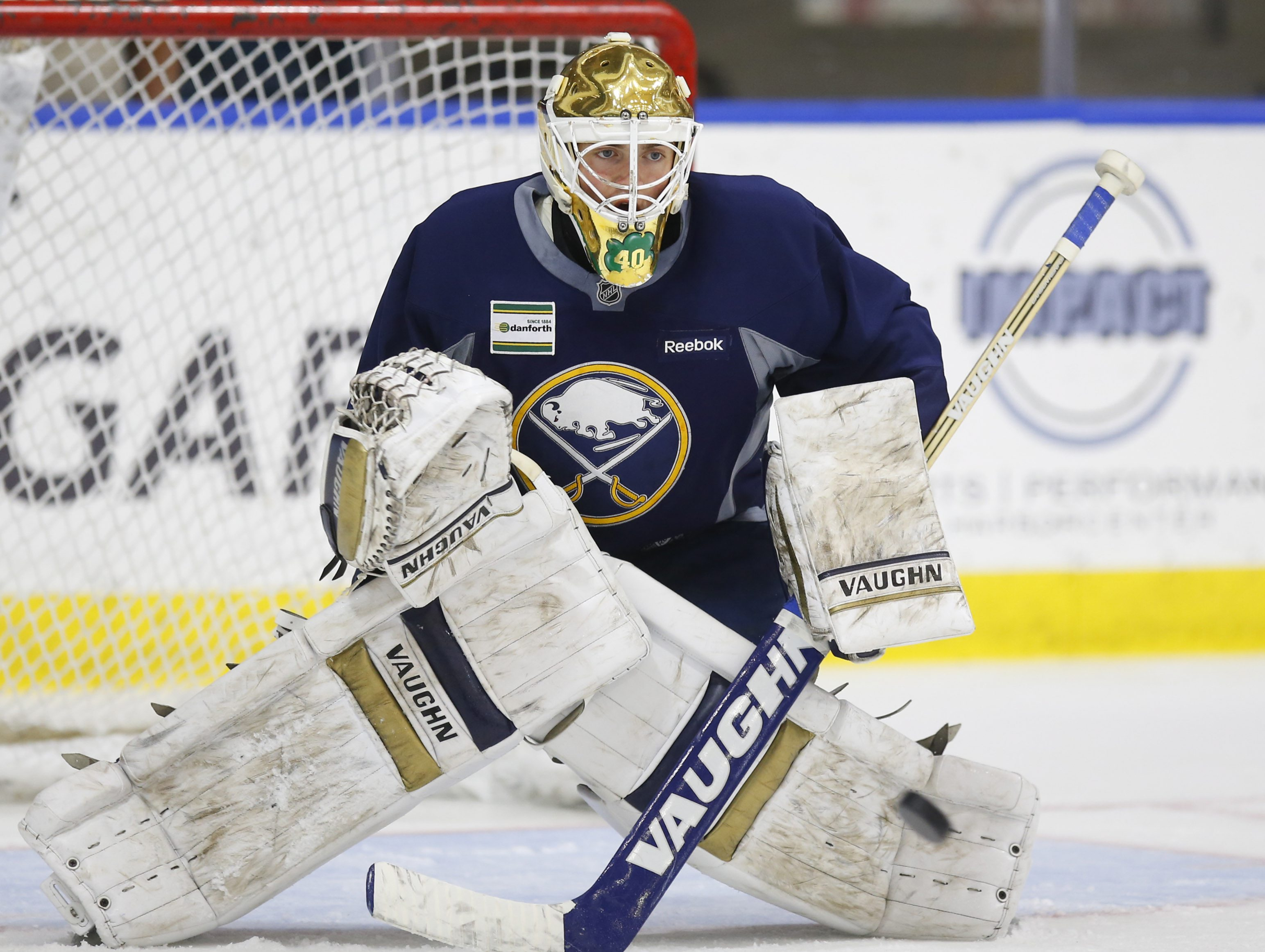 Cal Petersen was part of Sabres development camp this summer.