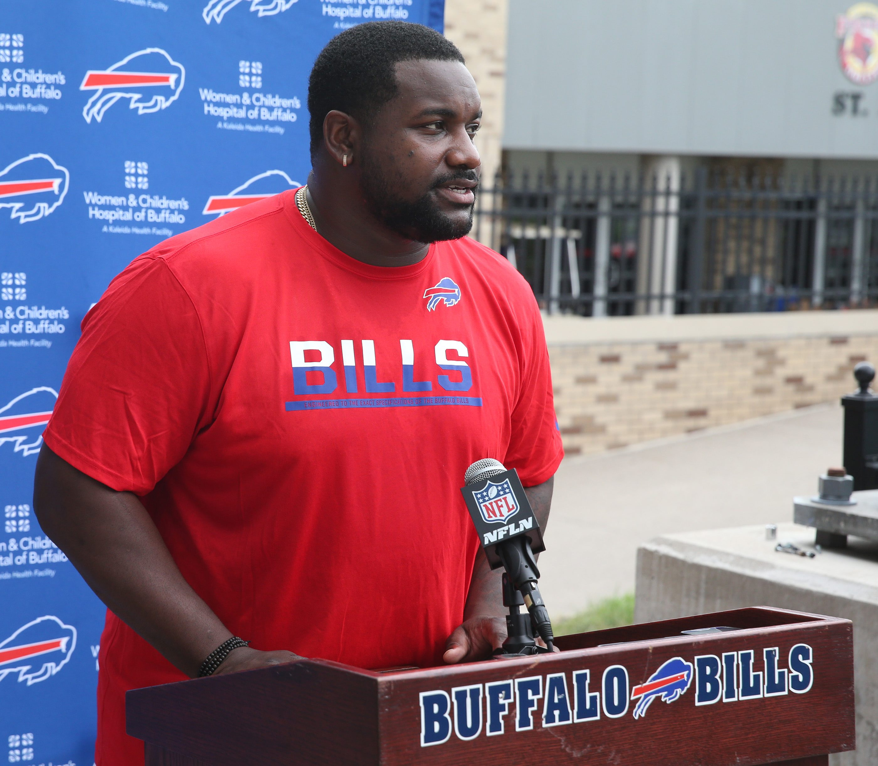 Marcell Dareus says he doesn't put himself before the team. (James P. McCoy/ Buffalo News)