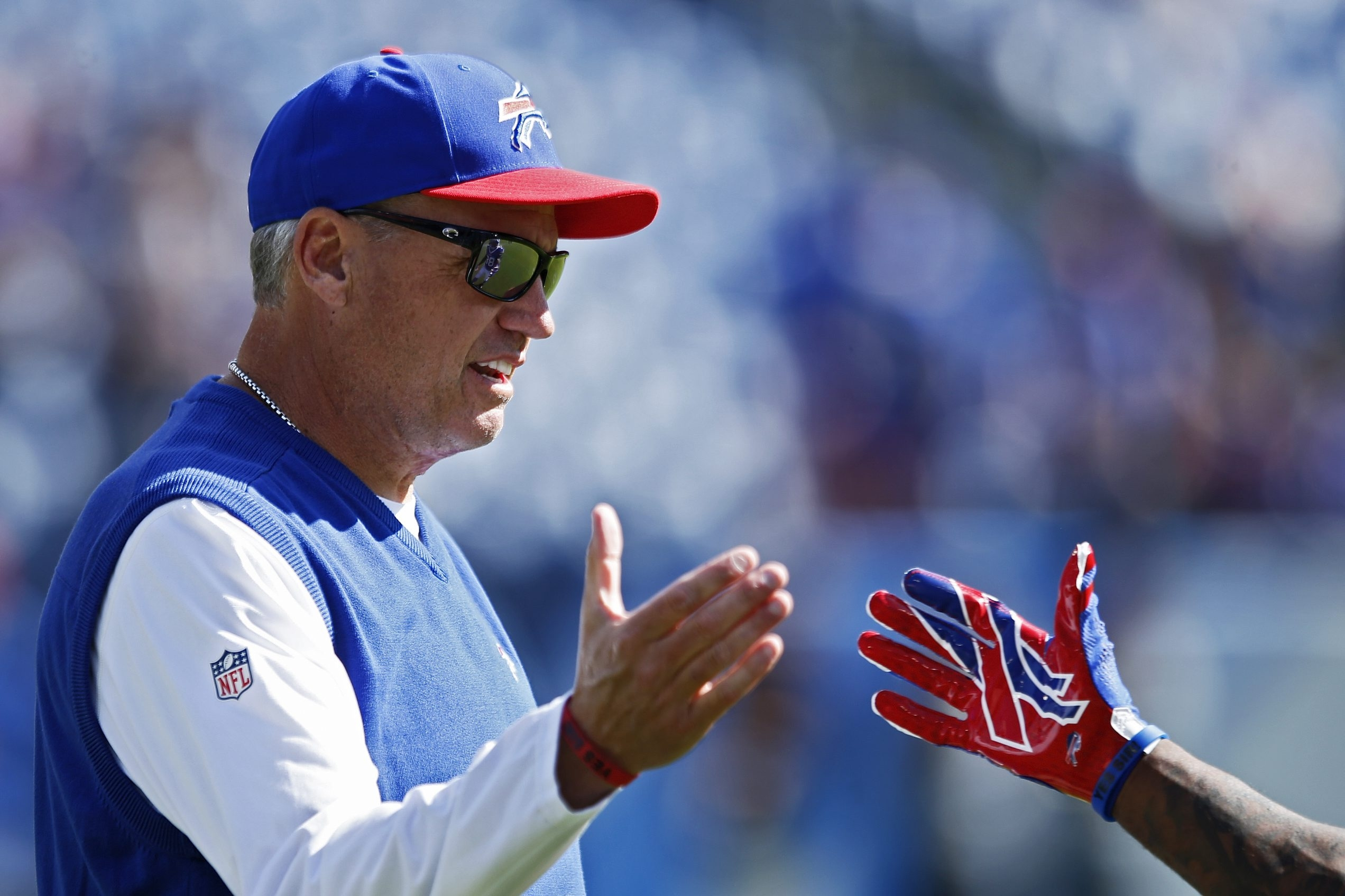 Where many coaches zig, Rex Ryan forever will zag.  (James P. McCoy/ Buffalo News)