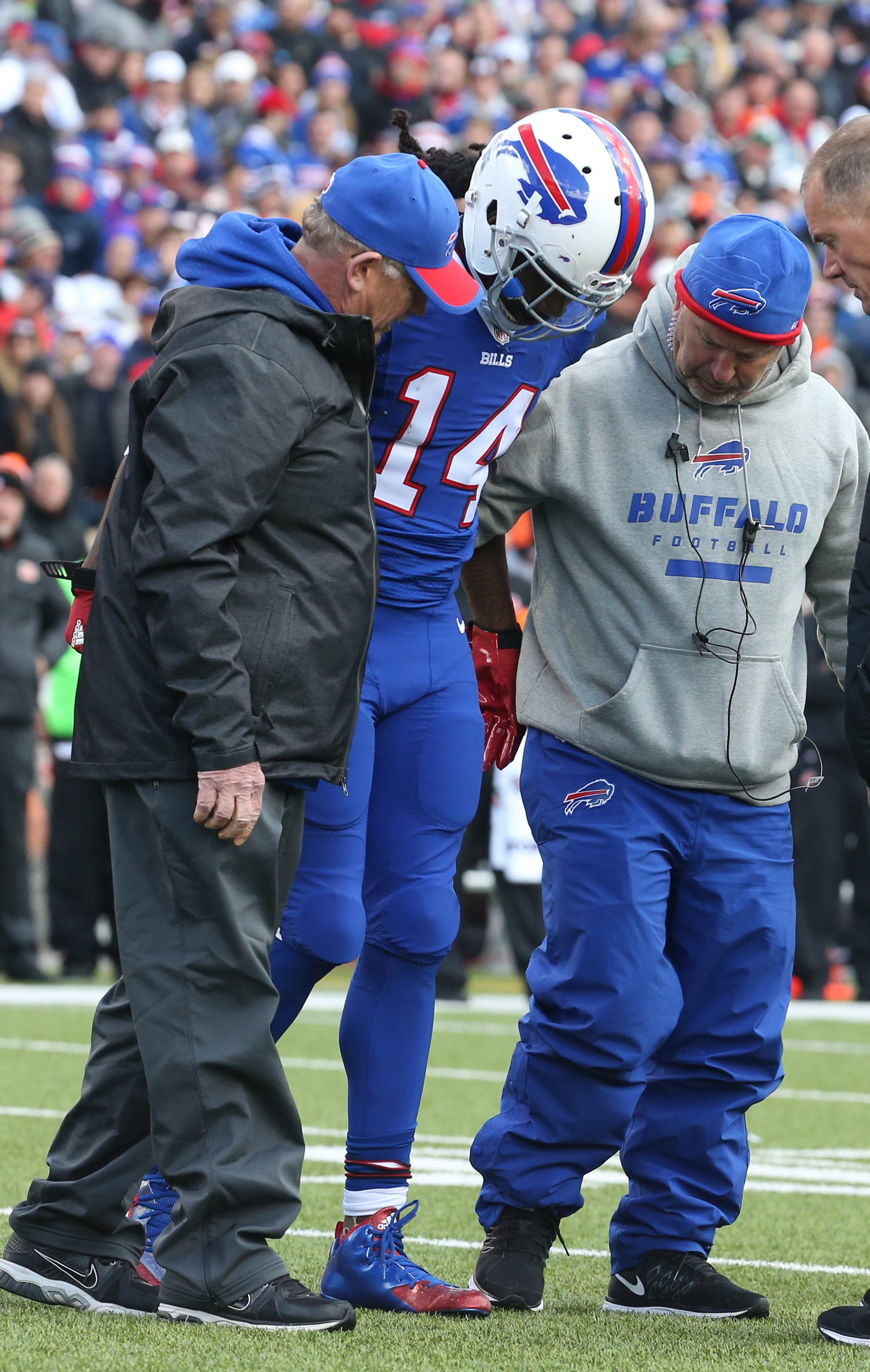 """Sammy Watkins has missed only three regular season games in his NFL career but some term him """"injury prone."""""""