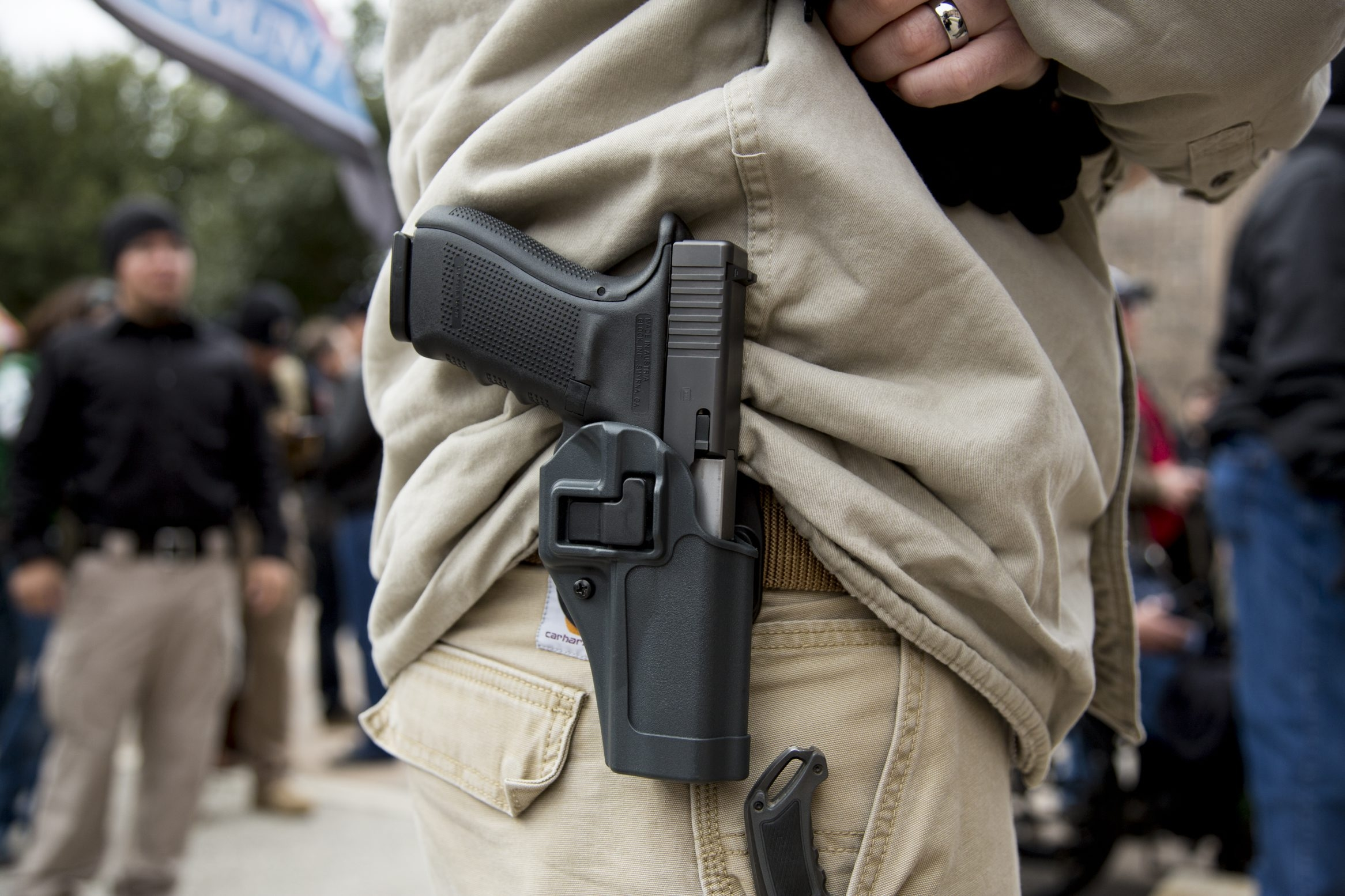 Thanks to Ohio's open-carry laws, you'll be able to go to the Republican National Convention armed. (Ilana Panich-Linsman/The New York Times)