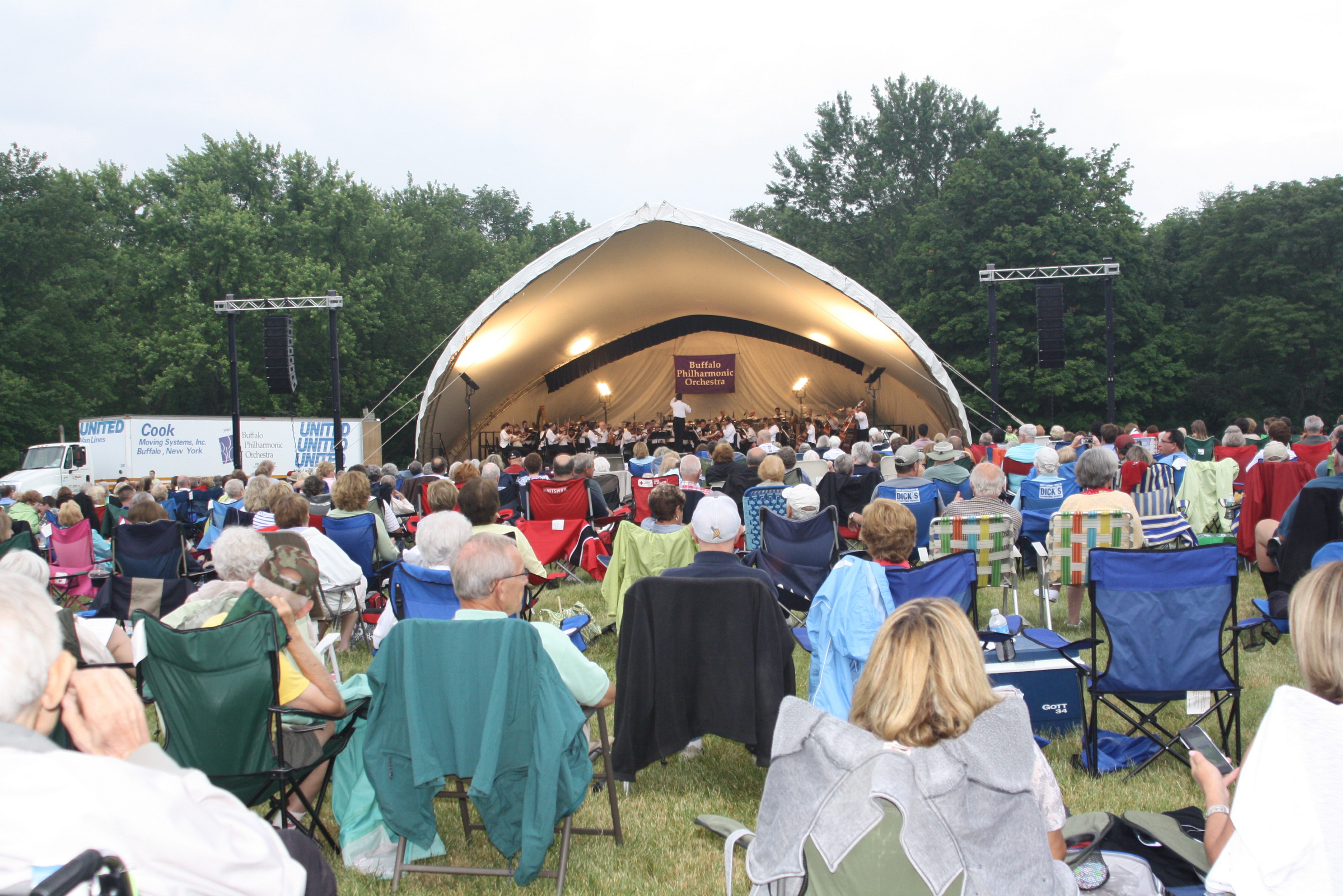 The Buffalo Philharmonic Orchestra will give a free concert of Americana music at 7 p.m. Friday at Knox Farm State Park. (courtesy Susan Schwartz)