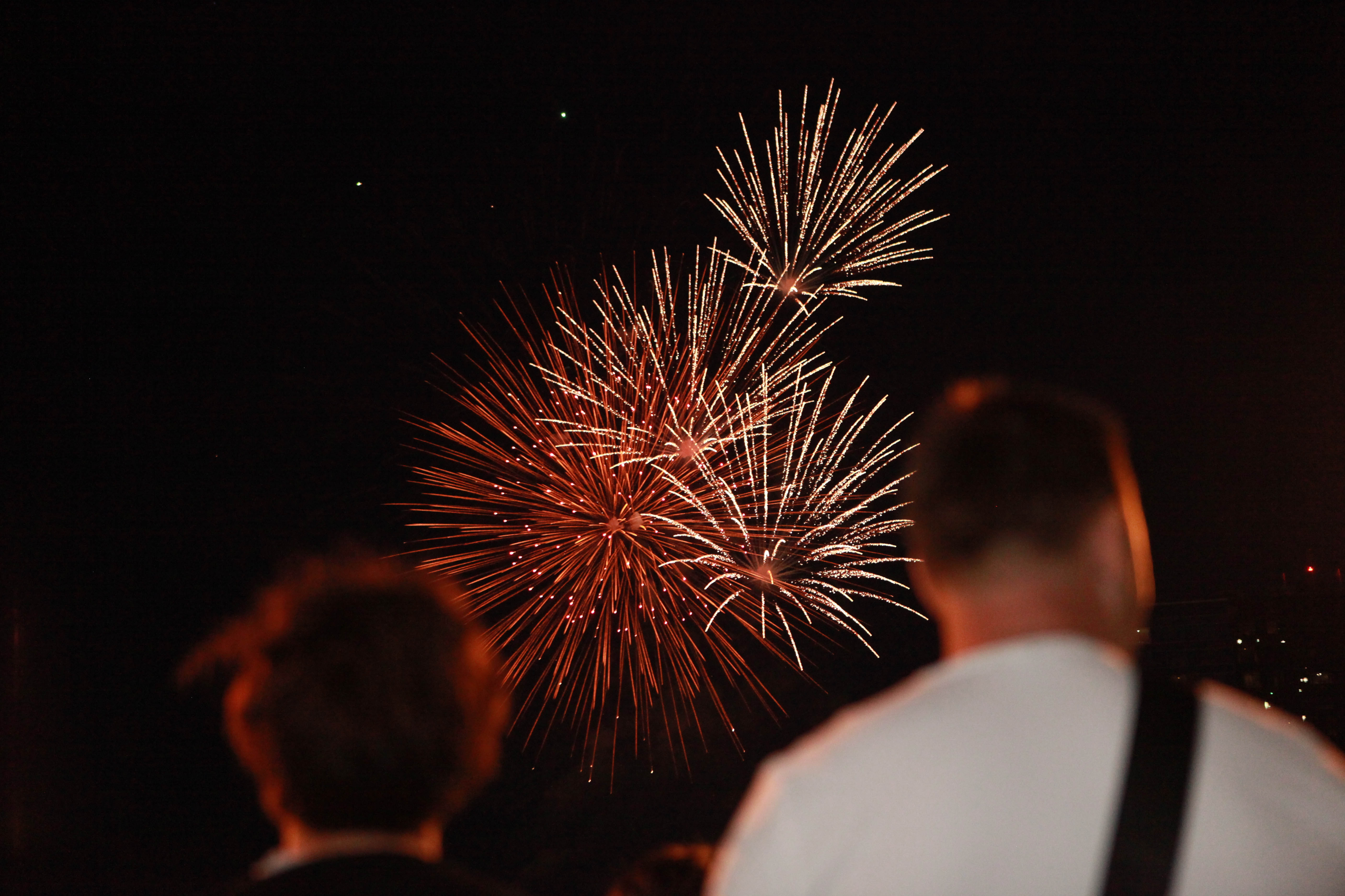 This year's July Fourth fireworks over Canalside begin at 10 p.m., but get there in the afternoon for music, children's activities, food trucks, a beer garden and a feeling of community combined with history and patriotism.