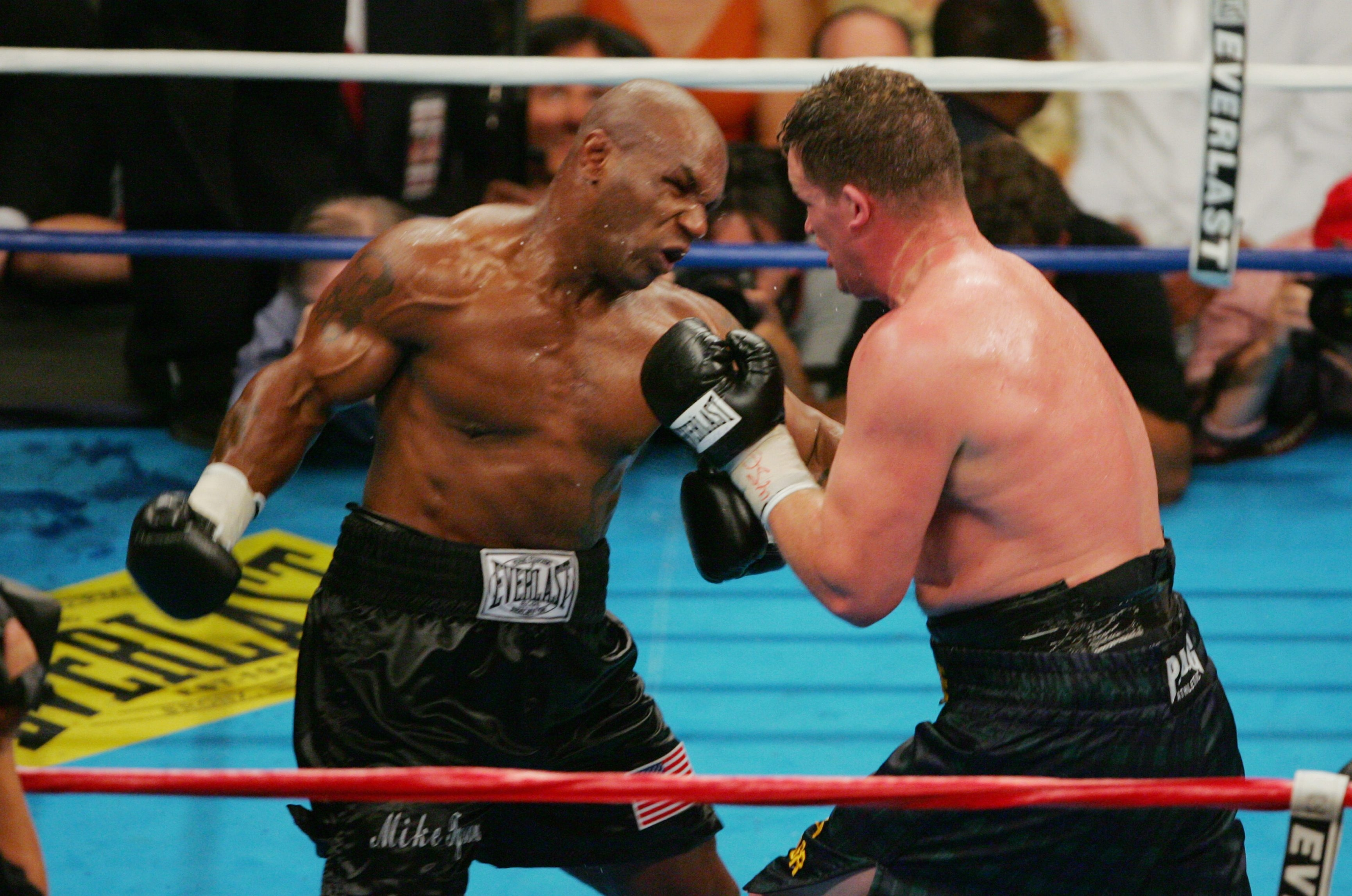Mike Tyson had some very good moments in his career and some bad ones, like this 2005 fight against Kevin McBride, which he lost.