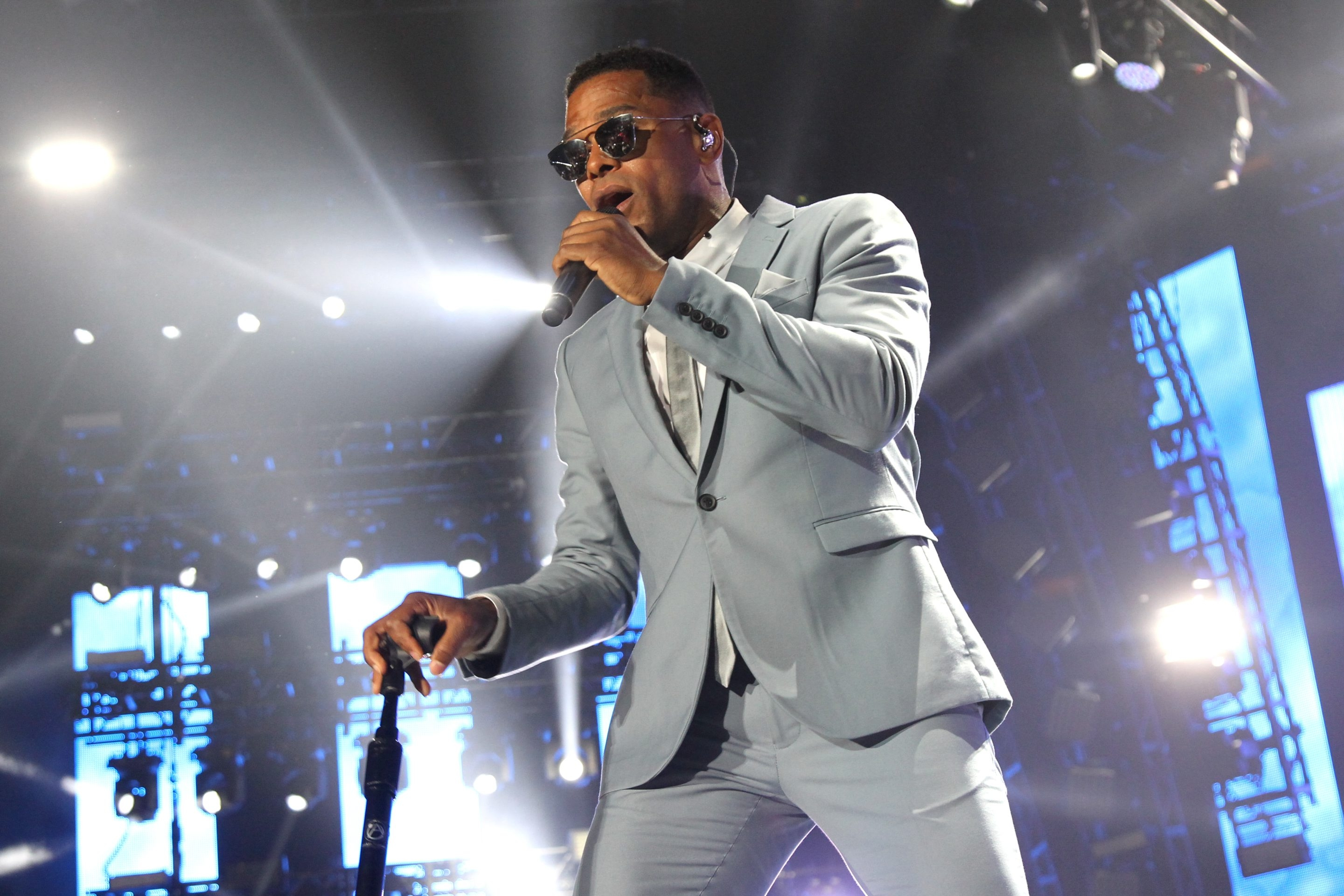 Maxwell, pictured here at the 2016 ESSENCE Festival, performed a concert of timeless R&B at Shea's Performing Arts Center. (Getty Images)