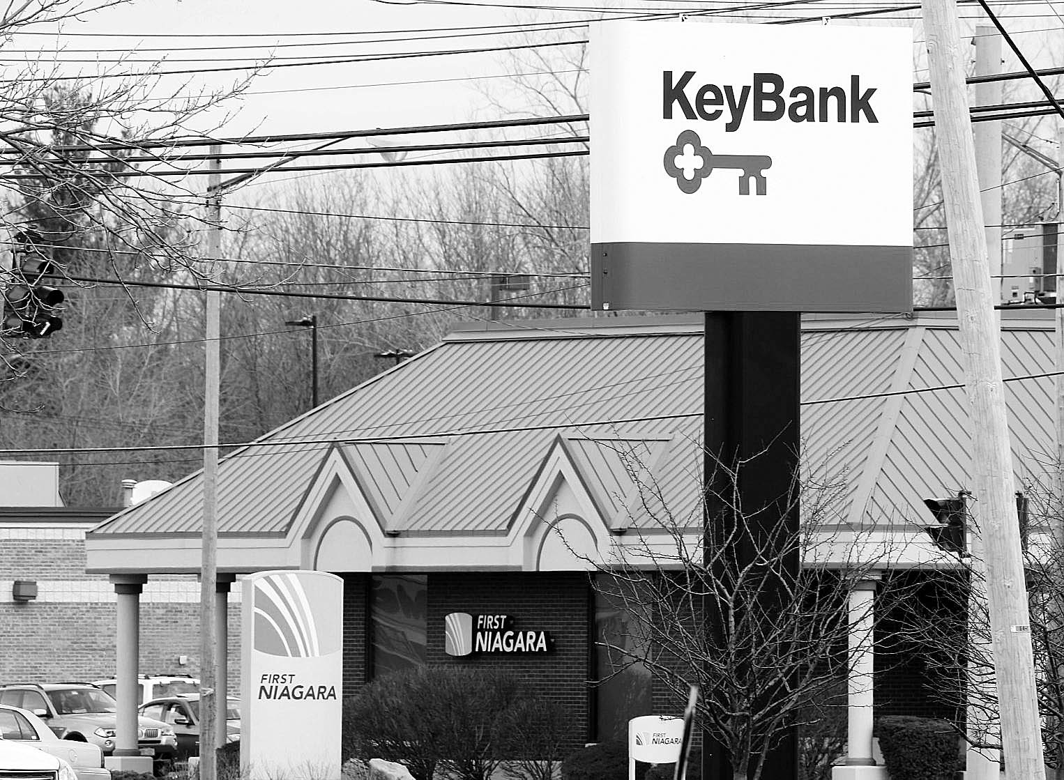 The Key Bank location at 5740 S. Transit Road in Lockport would close after the First Niagara takeover is approved.   (Derek Gee/Buffalo News)