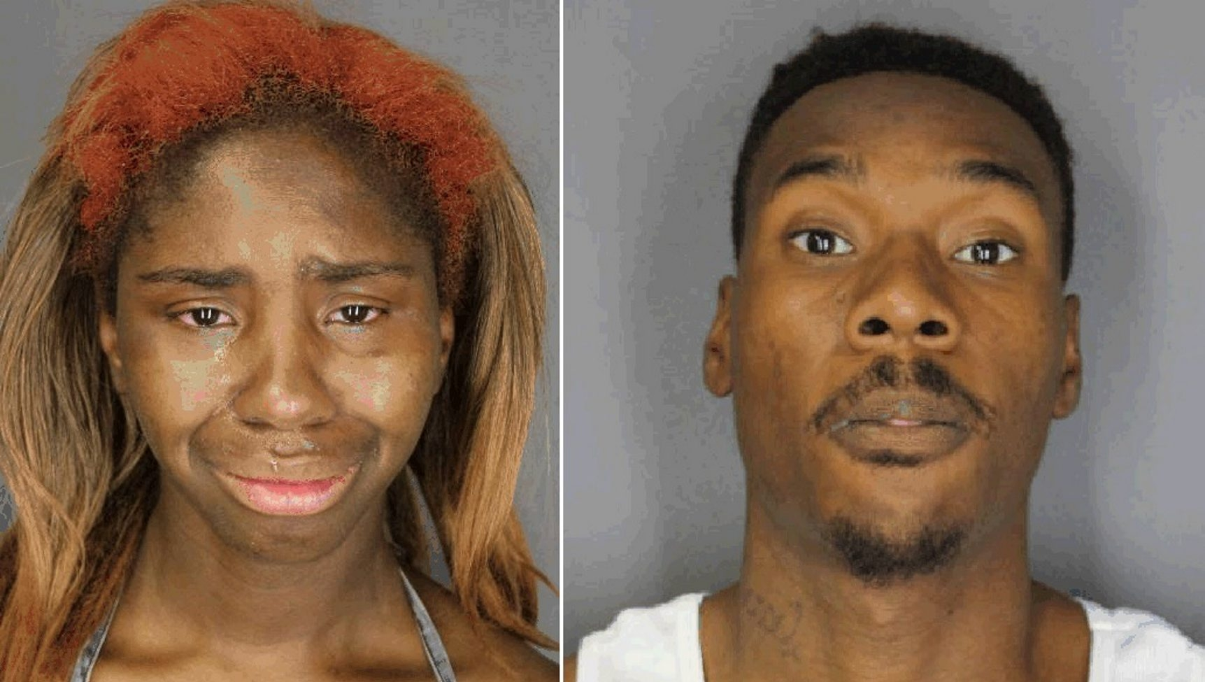 Maureen Fabre, 24, and Terrell Hagans, 26, were charged after three children were found living in deplorable conditions. (Photos provided by Buffalo Police)