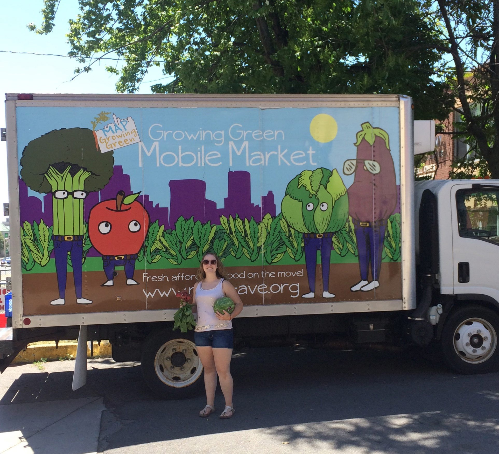 Nicolette Sarvis was a summer intern for the MAP's market.