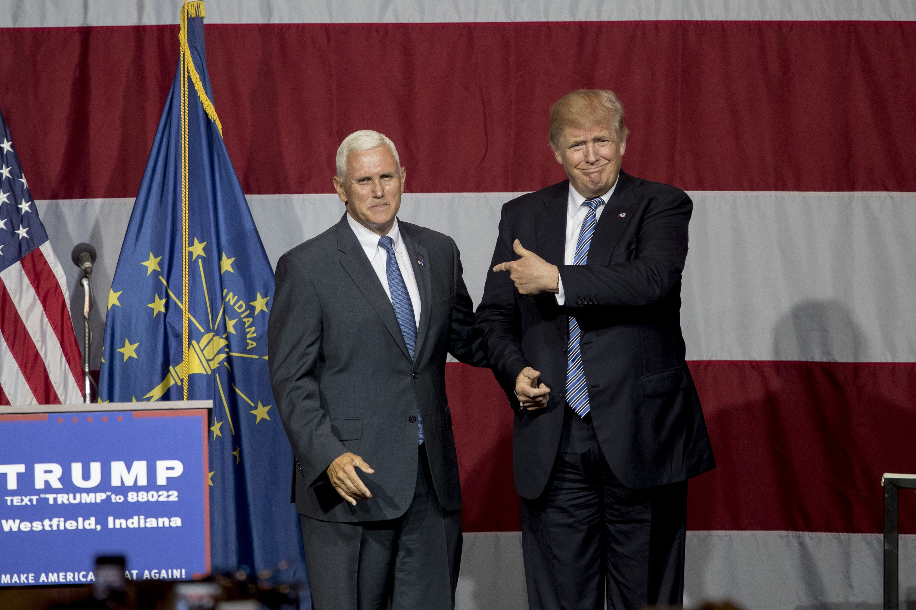 Donald Trump's selection of Indiana Gov. Michael R. Pence as his running mate could shore up his standing with conservatives.