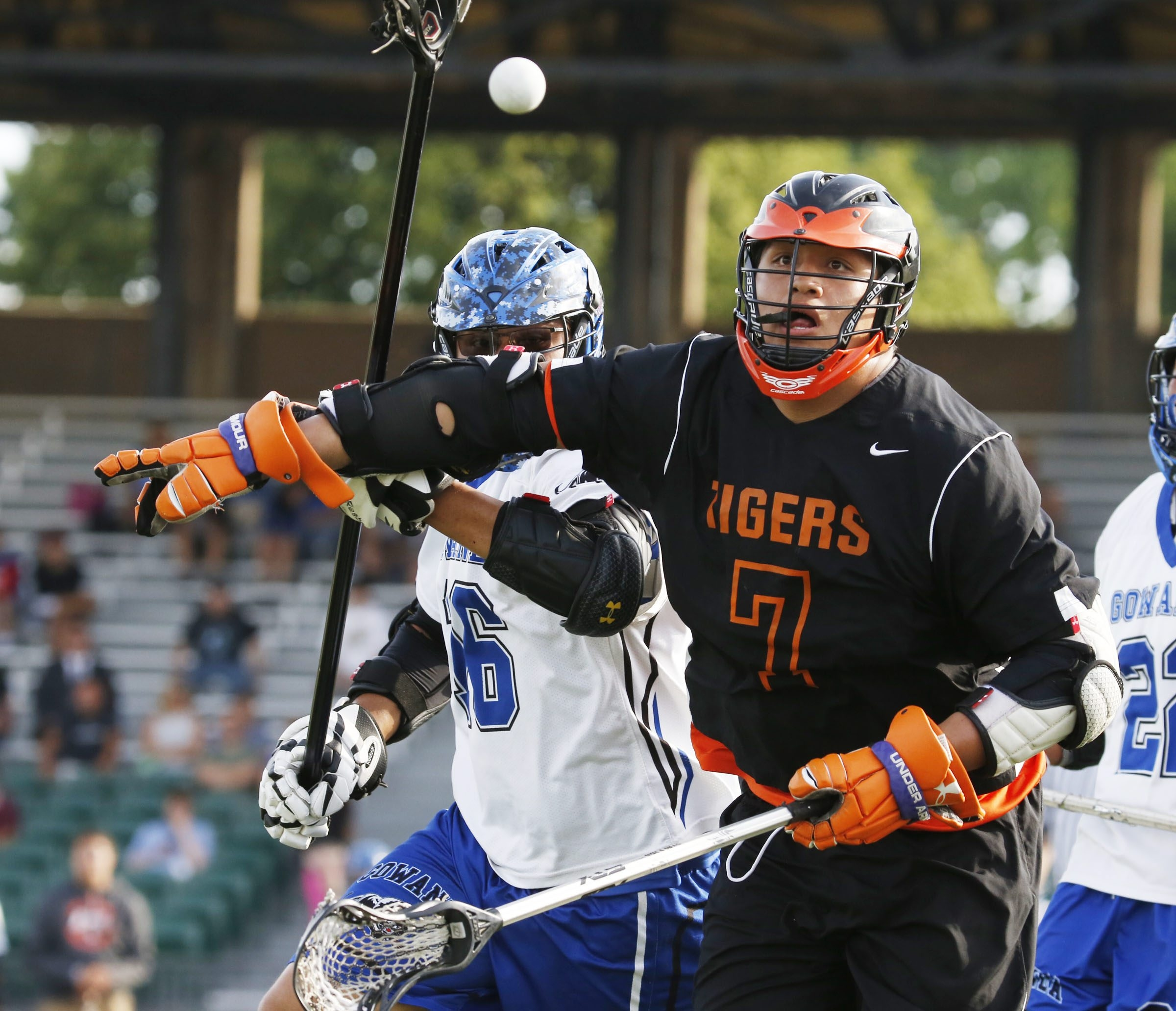 Gate Abrams helped Akron win its third consecutive Class C championship. Abrams, a U.S. Lacrosse All-American, finished his career with 400-plus goals.