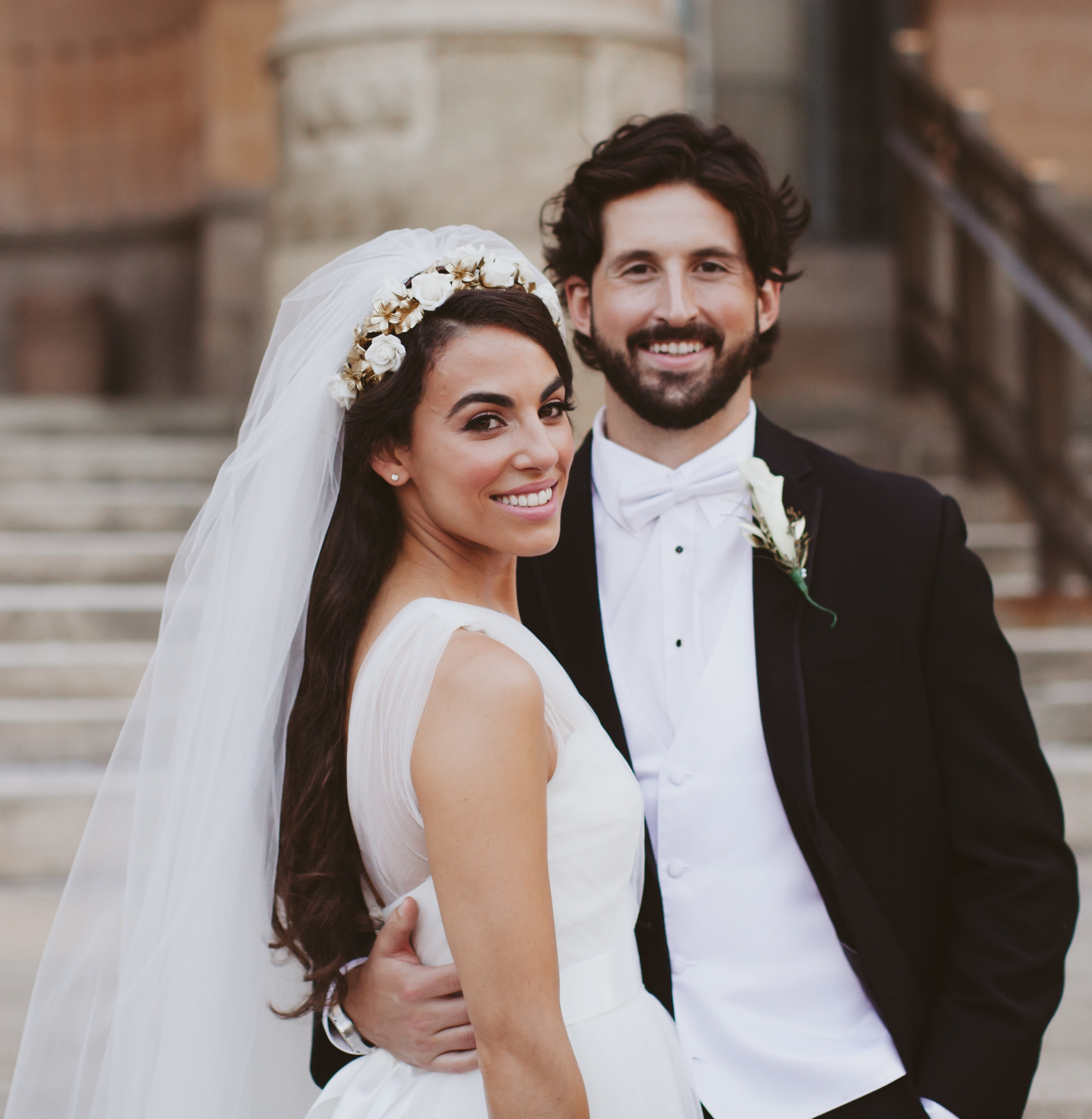 Nicole Krestos and Steven Guzski