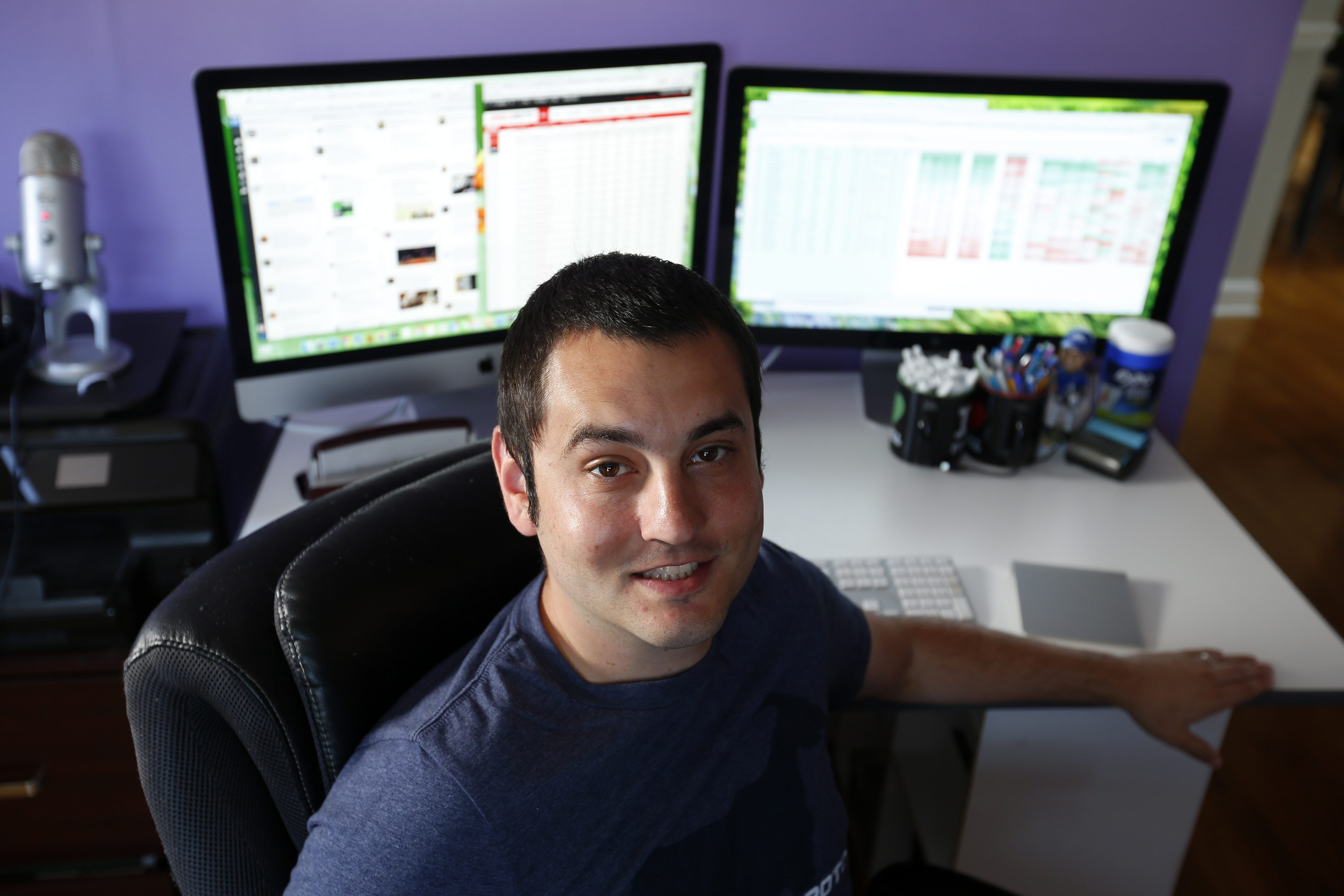 Michael Leone, a fantasy sports player and analyst, wonders about the future of the industry.