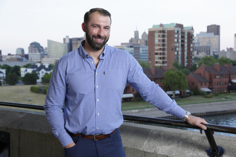 Jon Pierowicz, 32, now lives in downtown Buffalo.