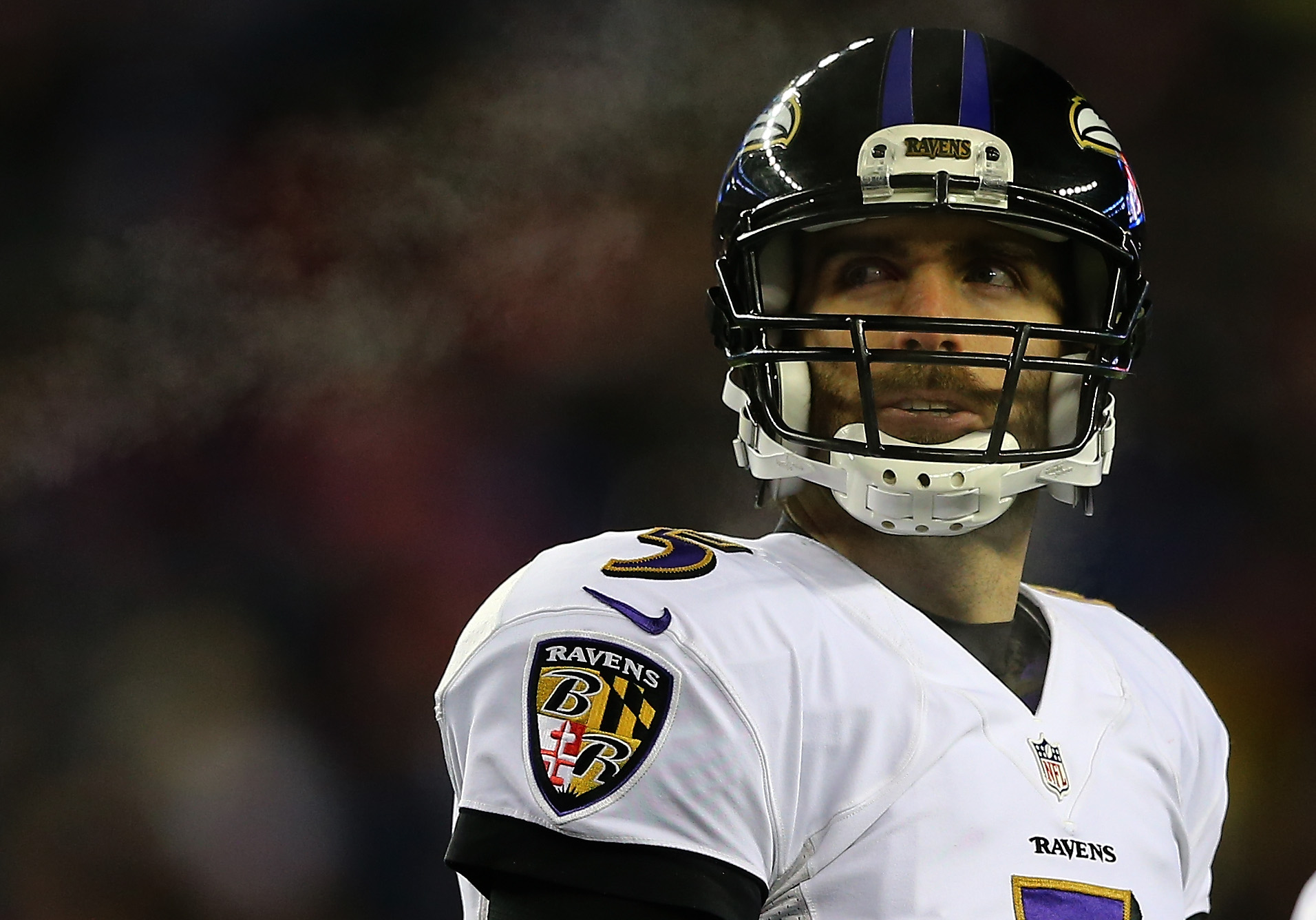 Joe Flacco is one of several Ravens returning from injury this season. (Getty Images)