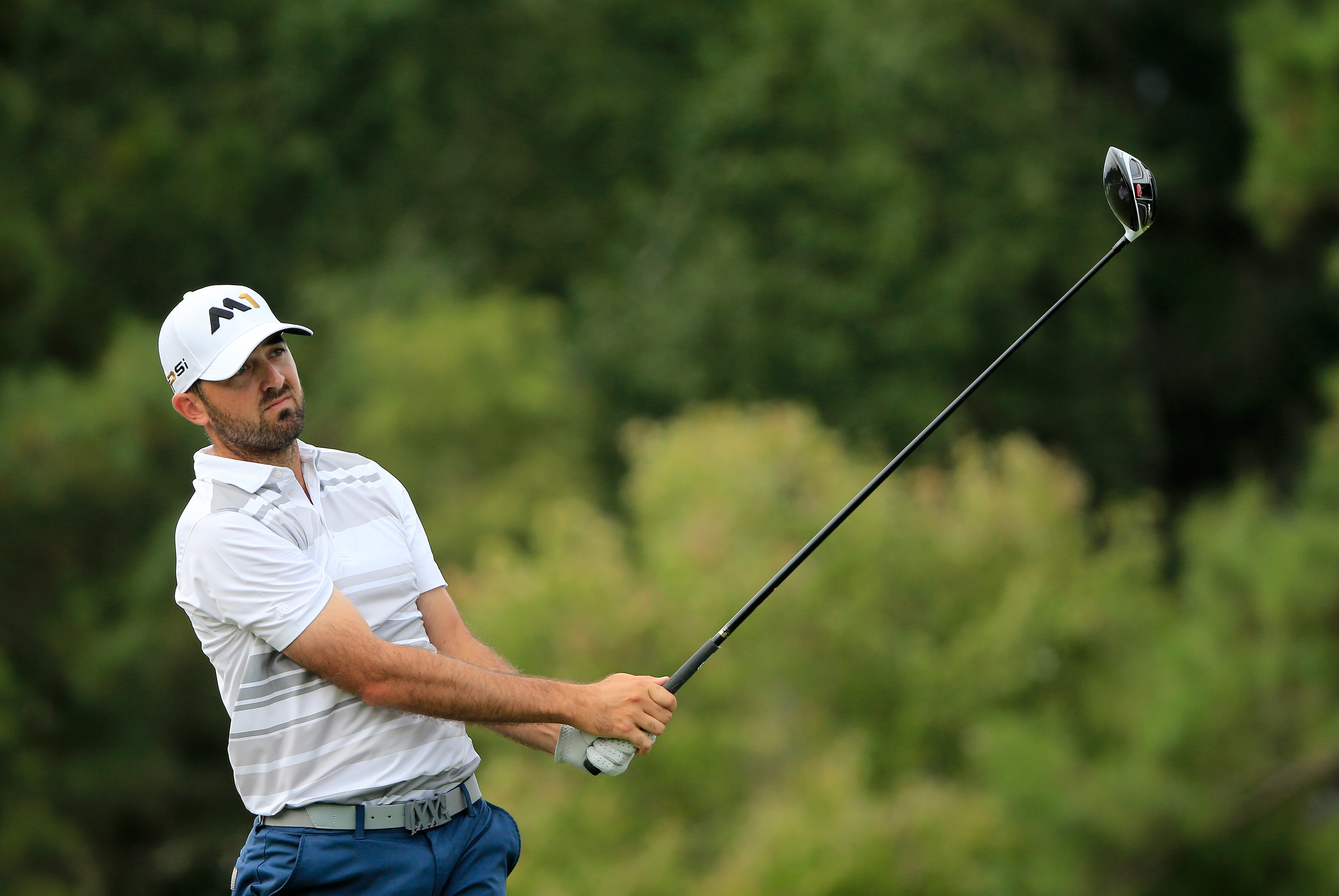 Rhein Gibson once shot a round of 55 on a par-71 course. (Getty Images)