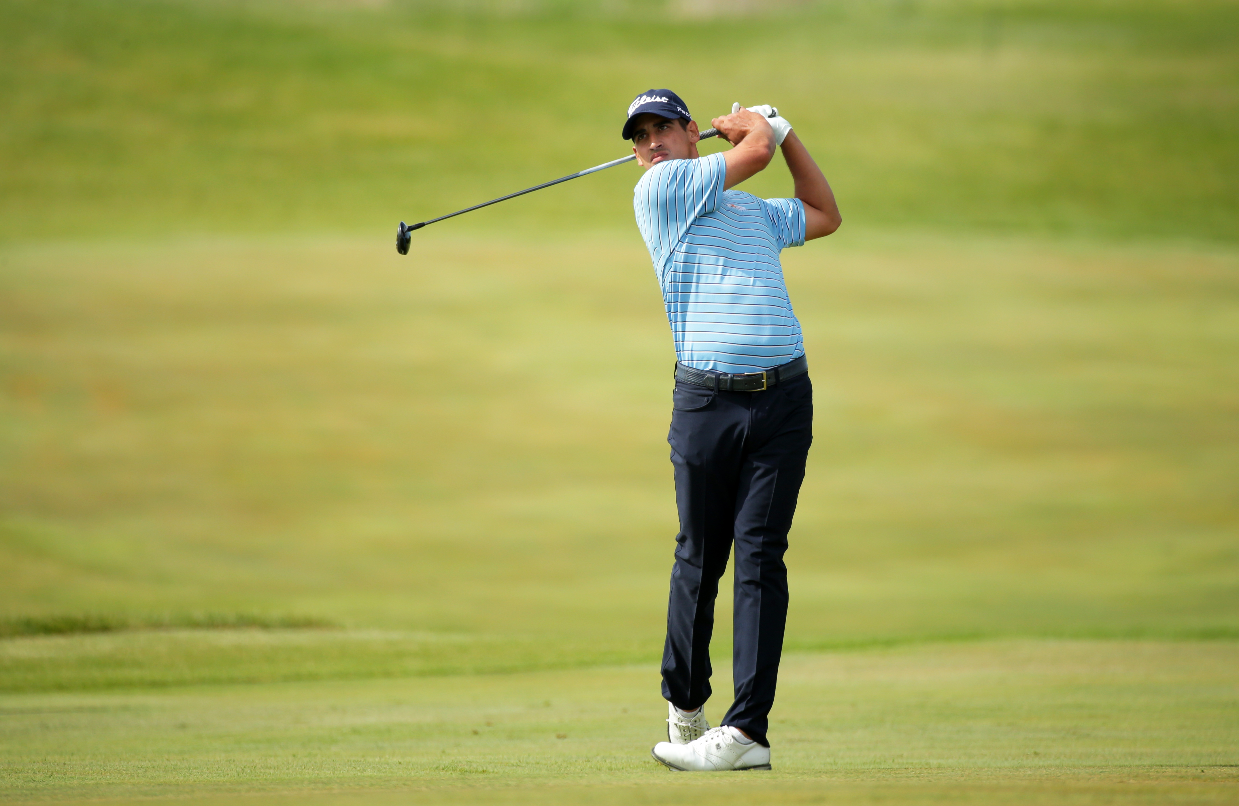 Rochester's Dominic Bozzelli is ninth on the Web.com Tour money list. (Getty Images)