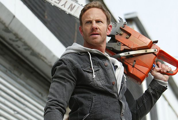 Ian Ziering in the original 'Sharknado.'