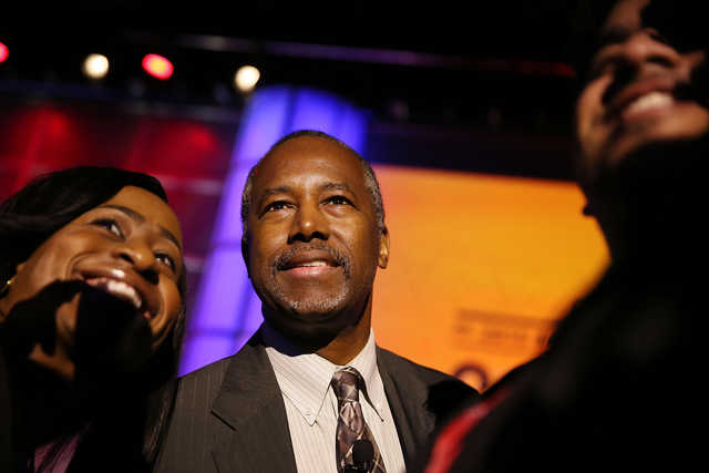 Dr. Ben Carson, who jumped behind Donald J. Trump's candidacy shortly after dropping out of the presidential race himself this spring, believes more blacks will favor the Republicans in November.