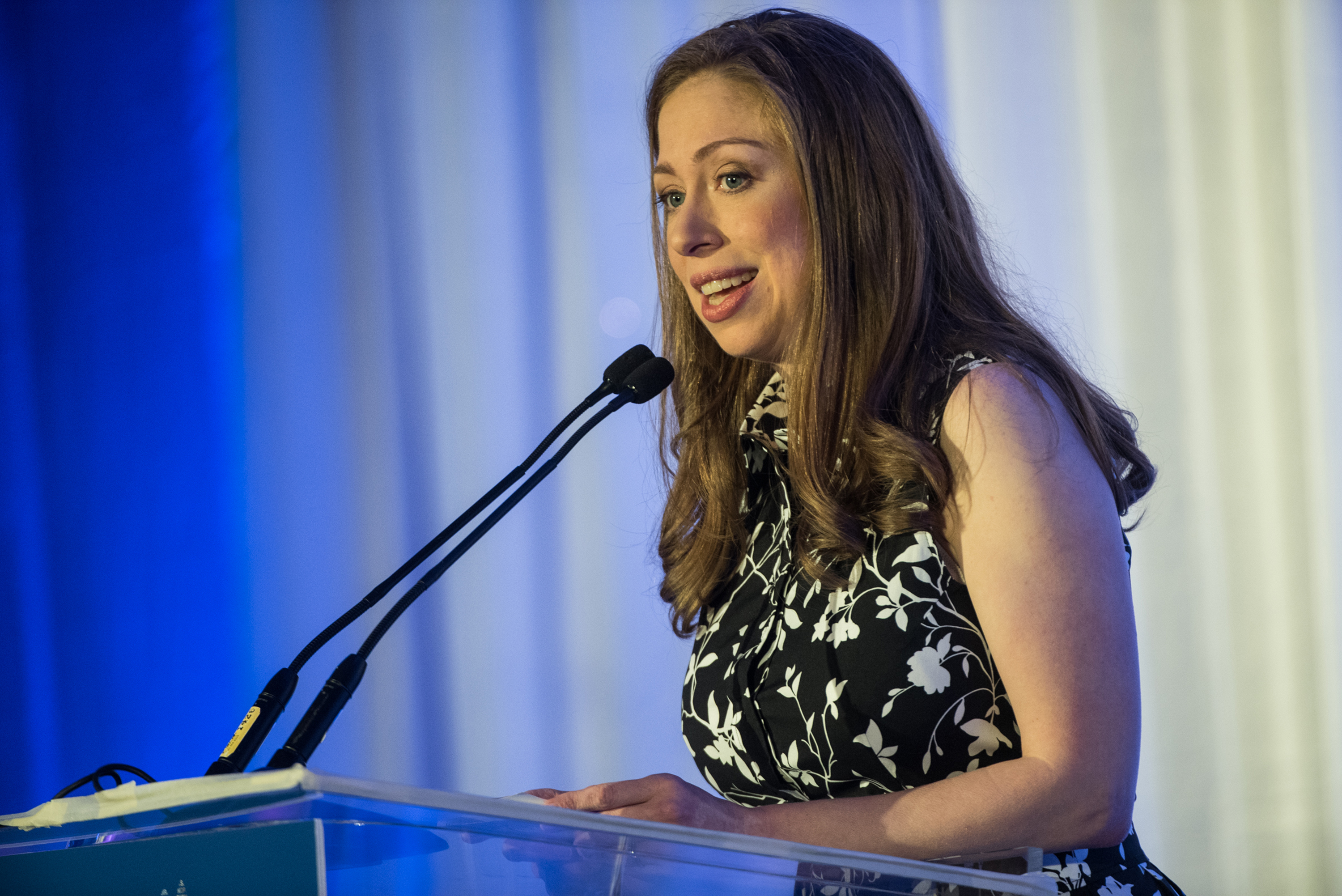 Chelsea Clinton will speak at tonight's Democratic National Convention. (Tribune News Service)