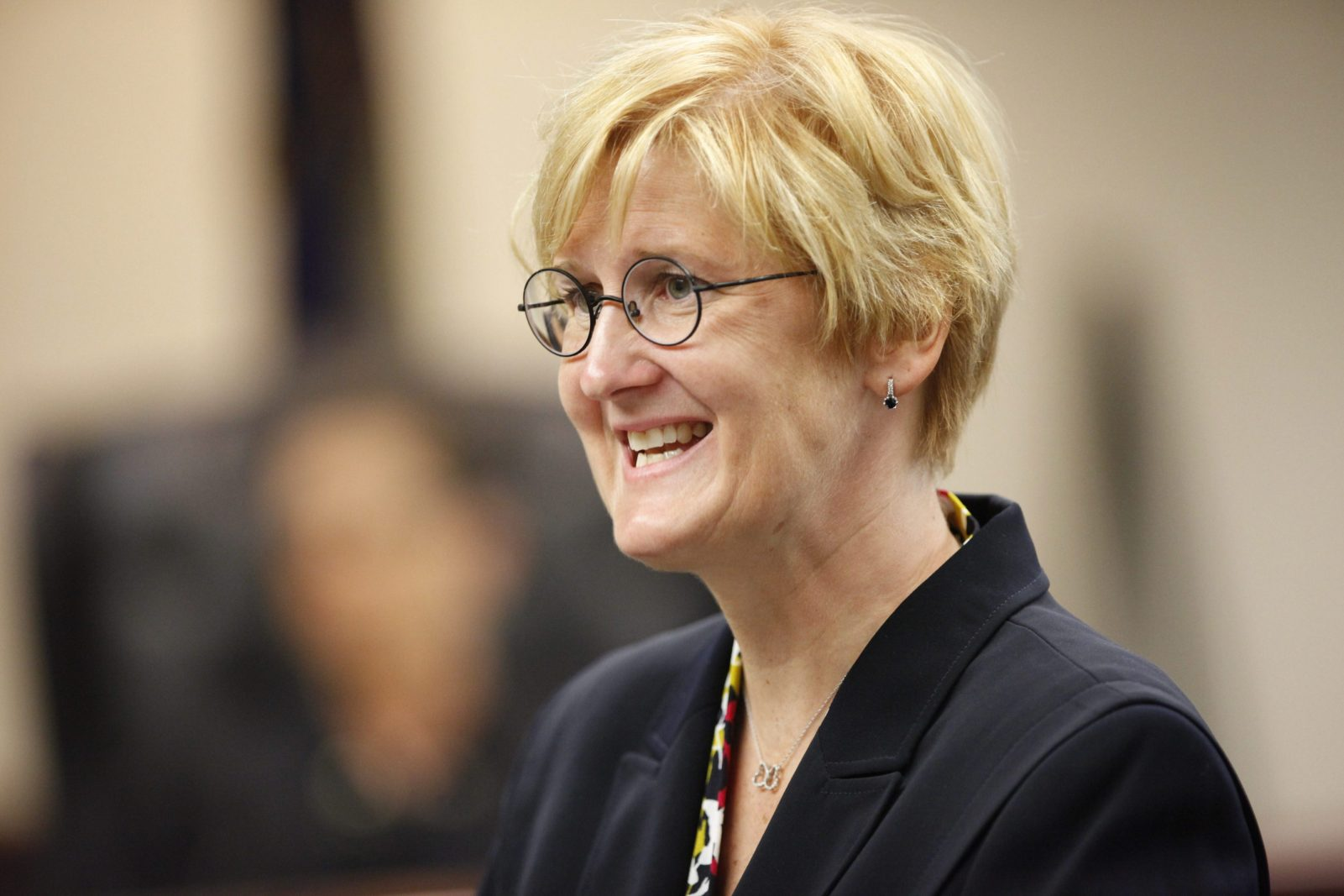 Defense attorney Cheryl Meyers Buth during the trail of Dr. James Corasanti. (Derek Gee/Buffalo News)
