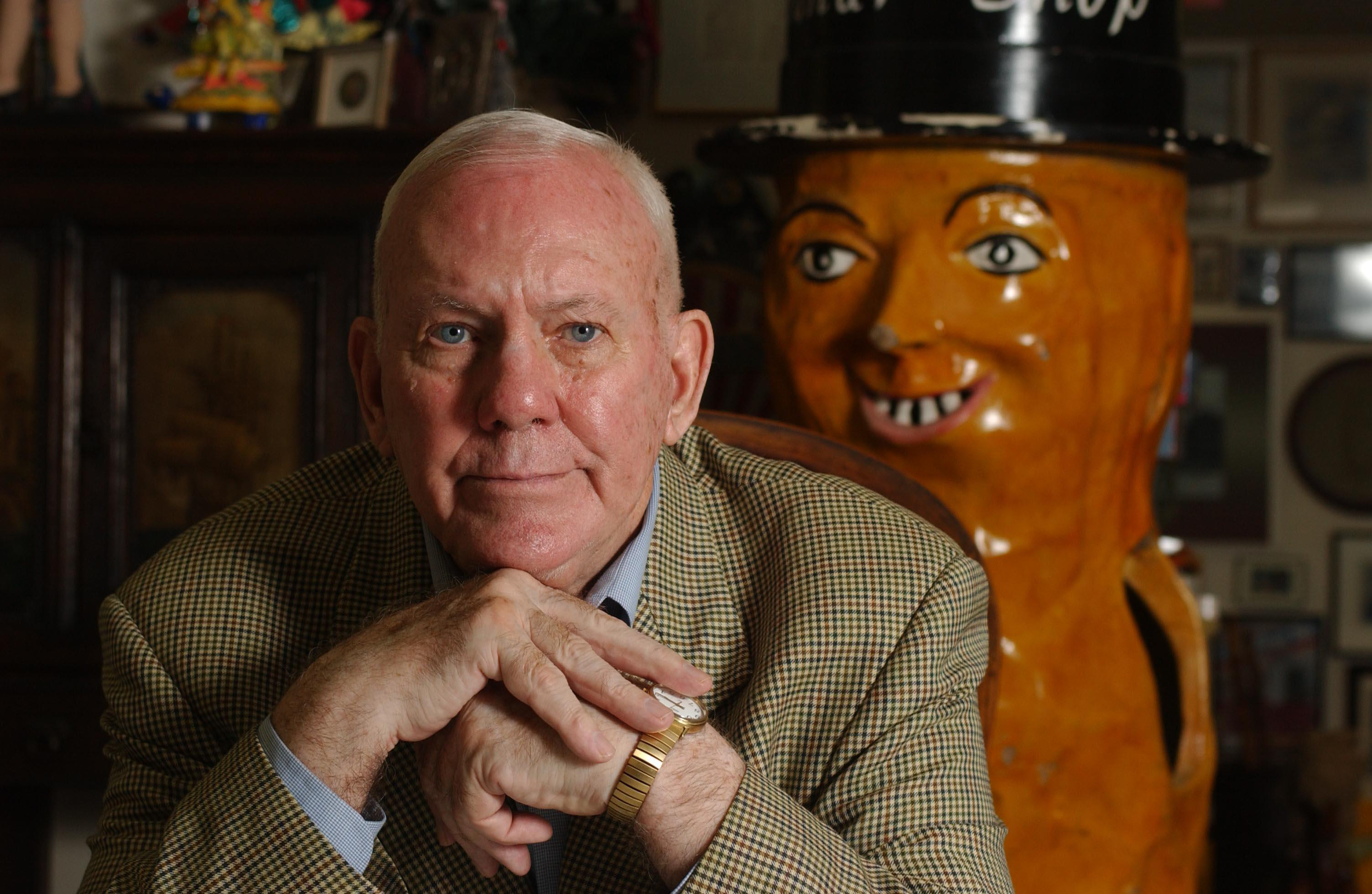 Charles Rand Penney thought Mickey Mouse and Ronald McDonald got plenty of attention, while another American icon, Mr. Peanut, could use more - so he started collecting related memorabilia. (Bill Wippert/Buffalo News file photo)