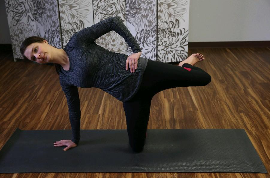 Hayley Sunshine will start leading Pilates classes this week at Hive Lifespan Center. (Sharon Cantillon/Buffalo News file photo)