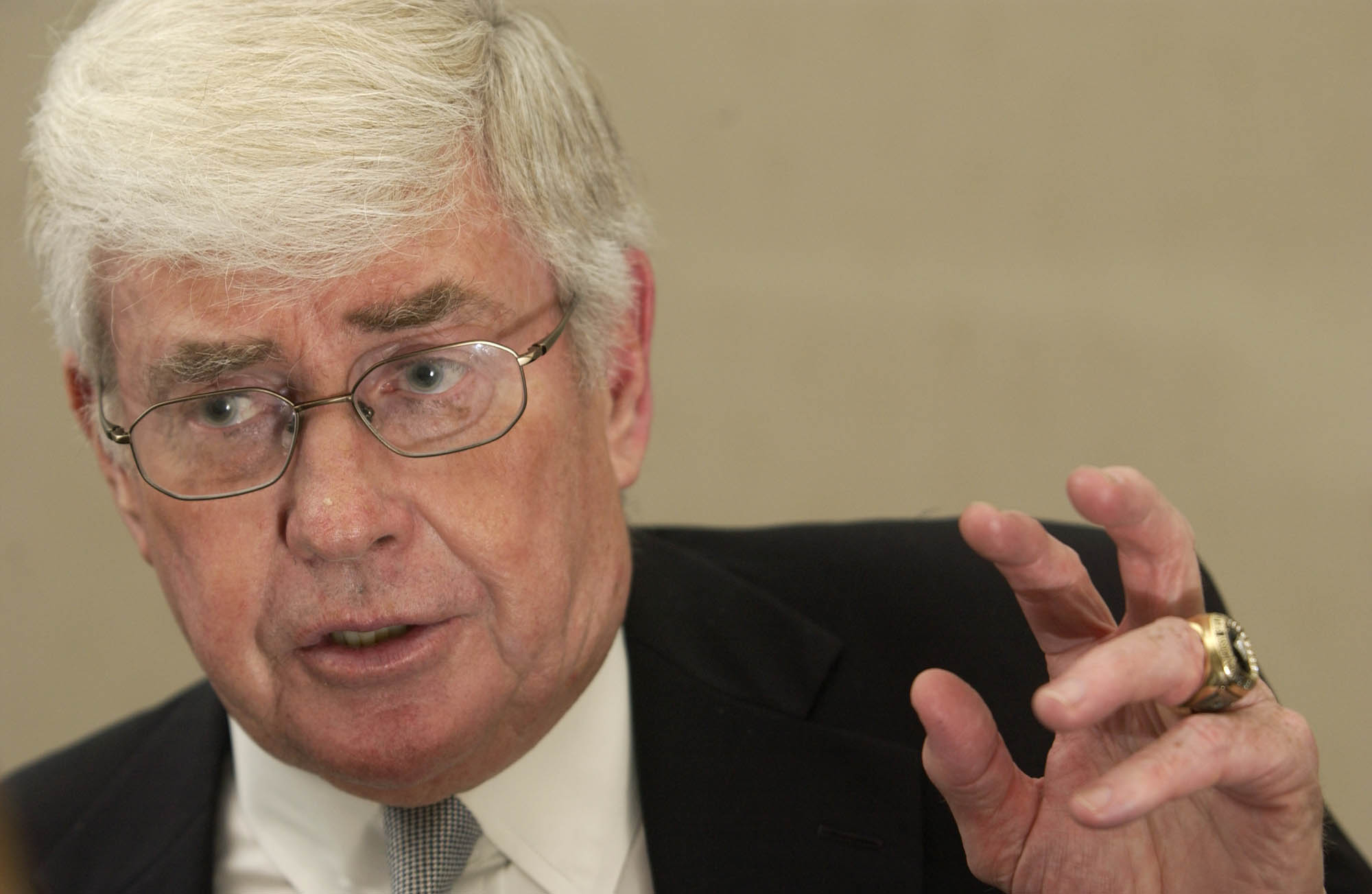Former Congressman Jack Kemp, pictured in 2004. (News file photo)