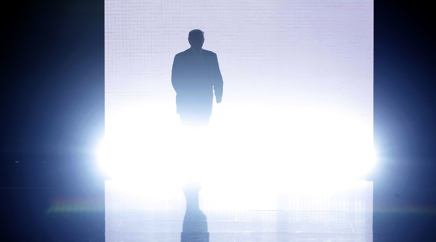 Trump entrance at Monday's RNC.