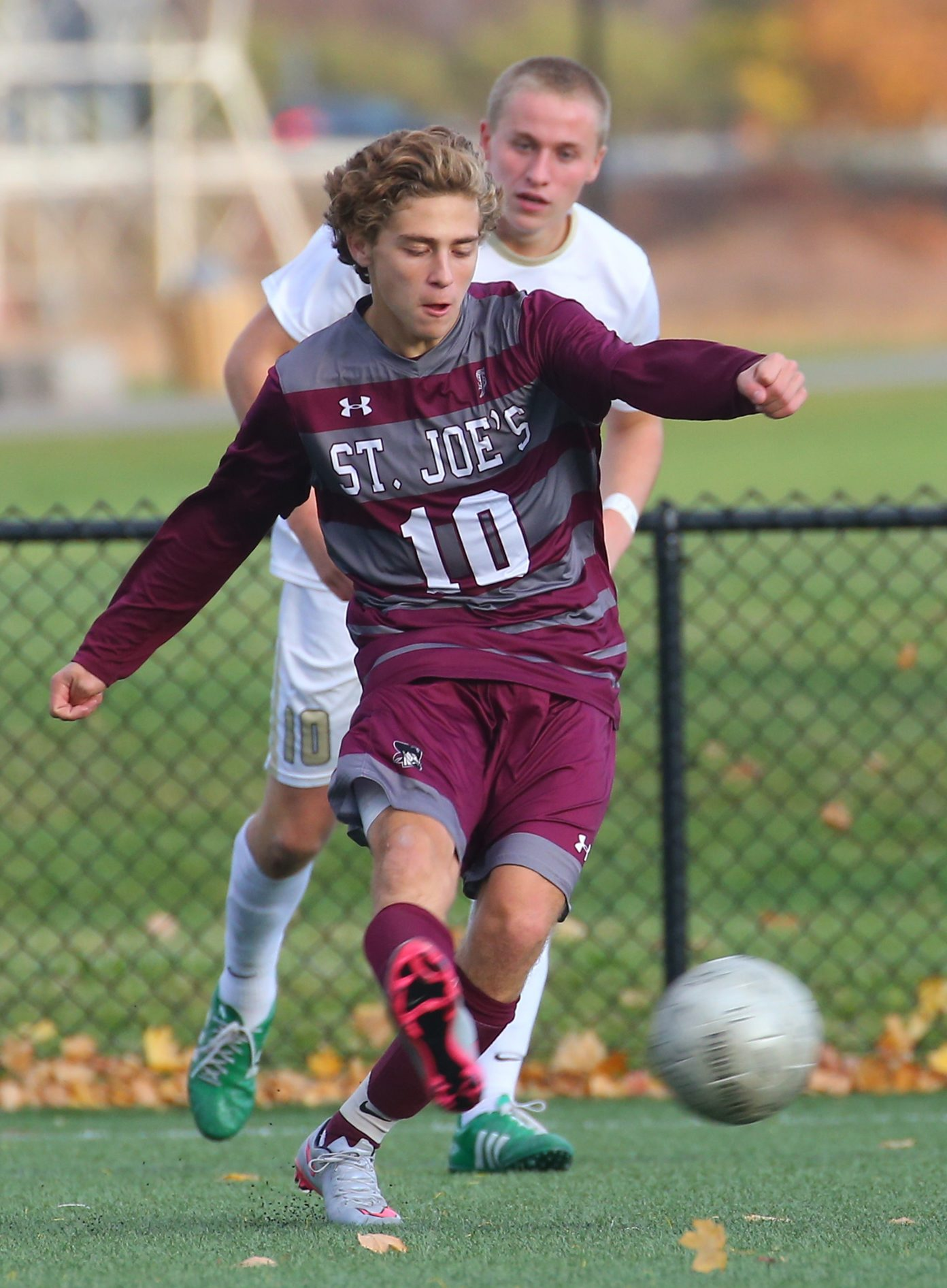 Dominic Miceli and the St. Joe's Marauders are among the many teams that will be in action Friday. The first game of the fall sports season is Wednesday afternoon in Albion.  (John Hickey/Buffalo News)