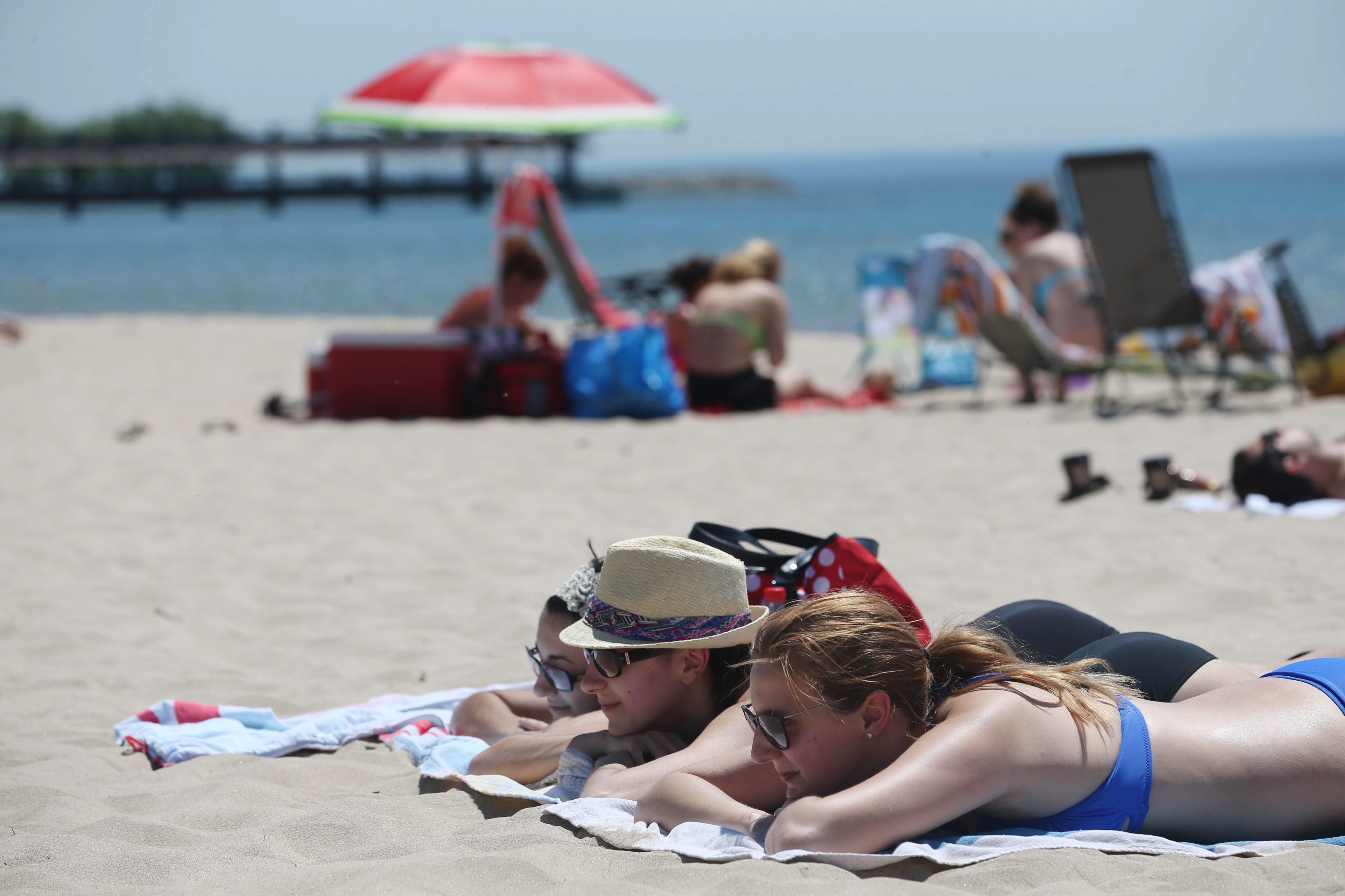 It's been one hot summer around the Buffalo Niagara region, and here at Crystal Beach, Ont. (Sharon Cantillon/Buffalo News)