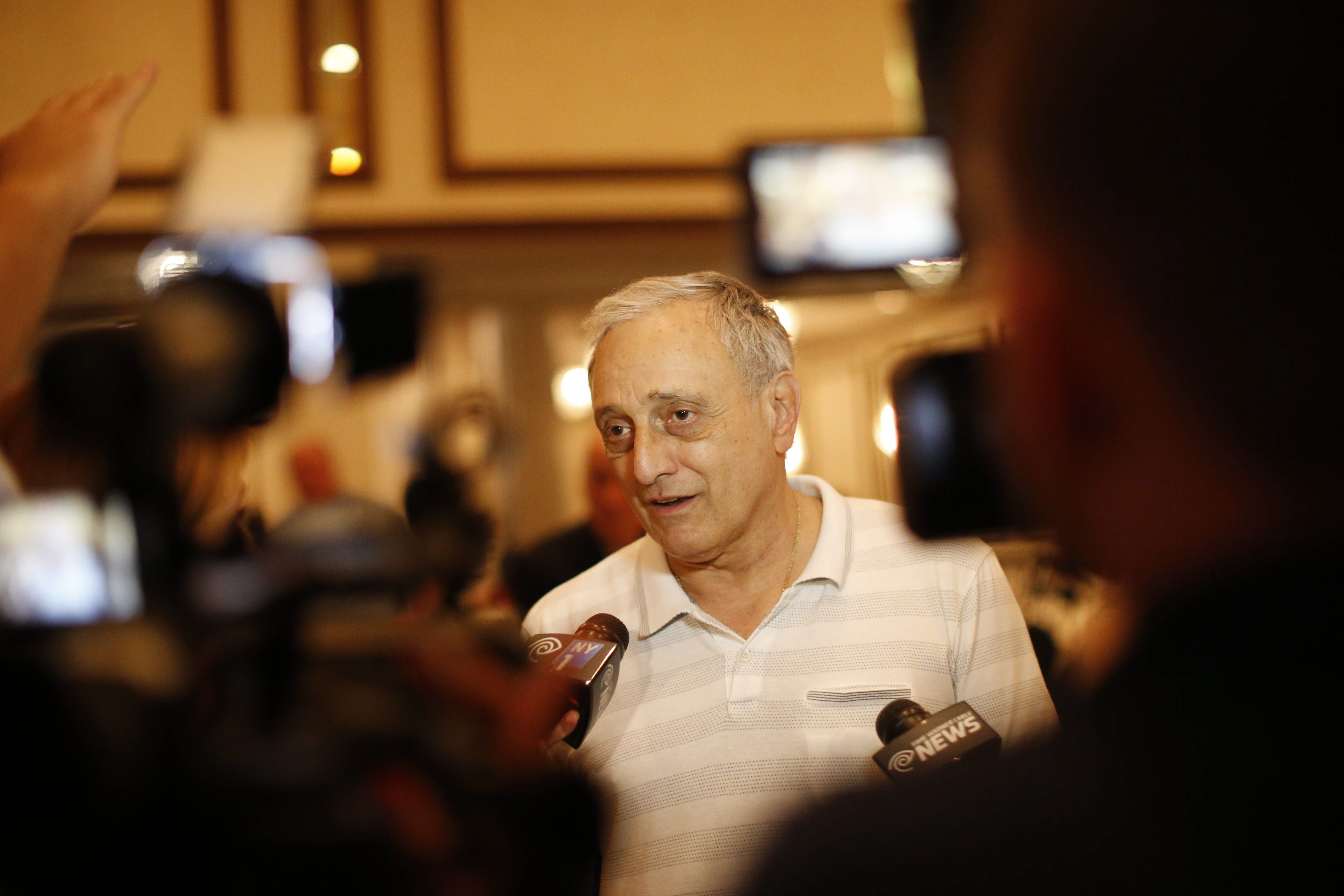 """""""In the mind of the average American, there is no doubt he is a Muslim. He is not a Christian,"""" Carl  Paladino told the New York Observer on Aug. 4. (Derek Gee/News file photo)"""
