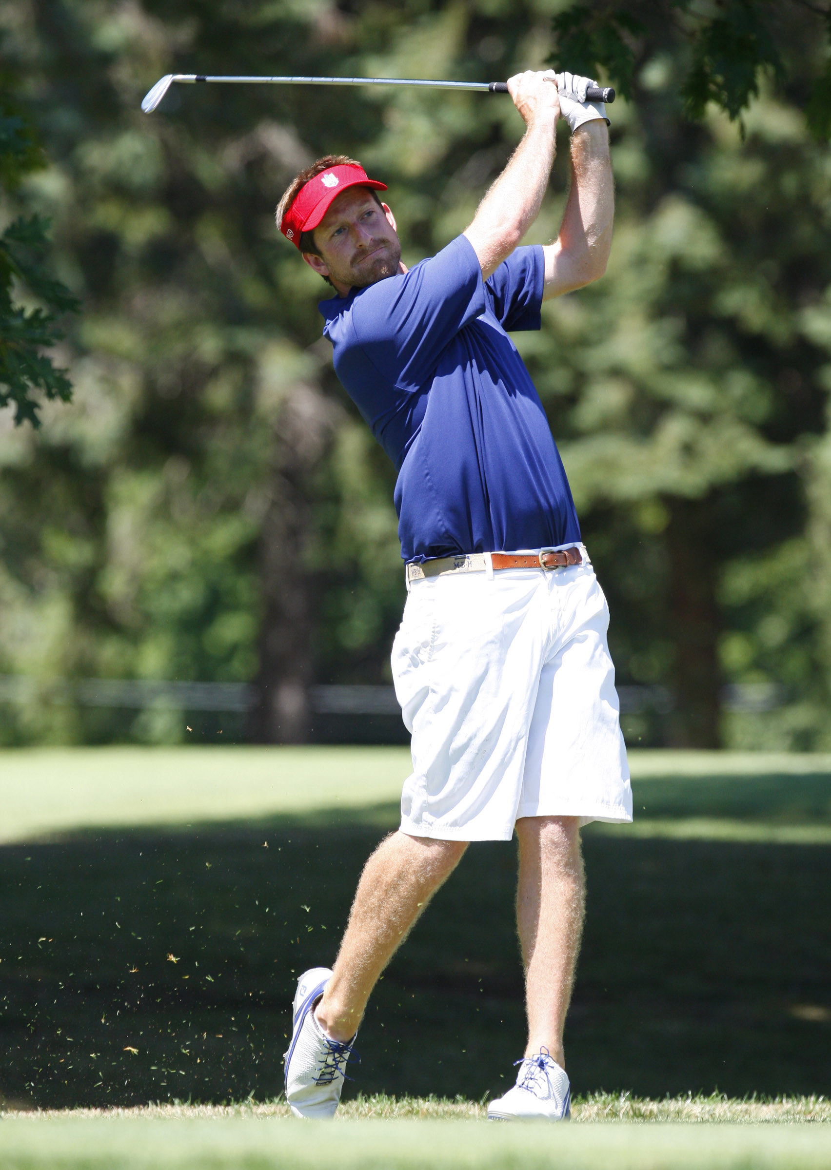 Billy Hanes advanced in a playoff (Harry Scull Jr./Buffalo News)