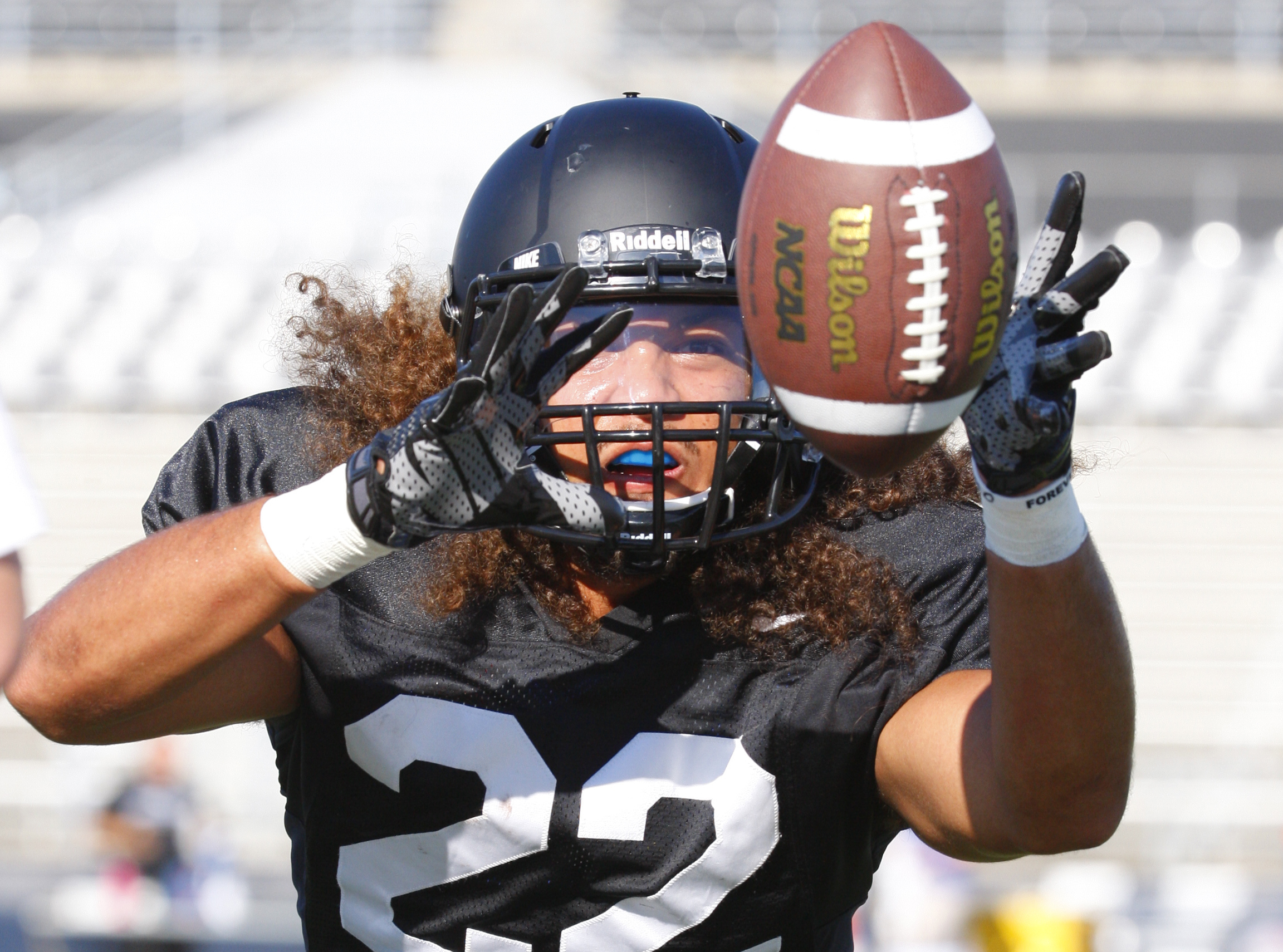 Tim Roberts is a notable name on the UB depth chart. (Harry Scull Jr./Buffalo News)