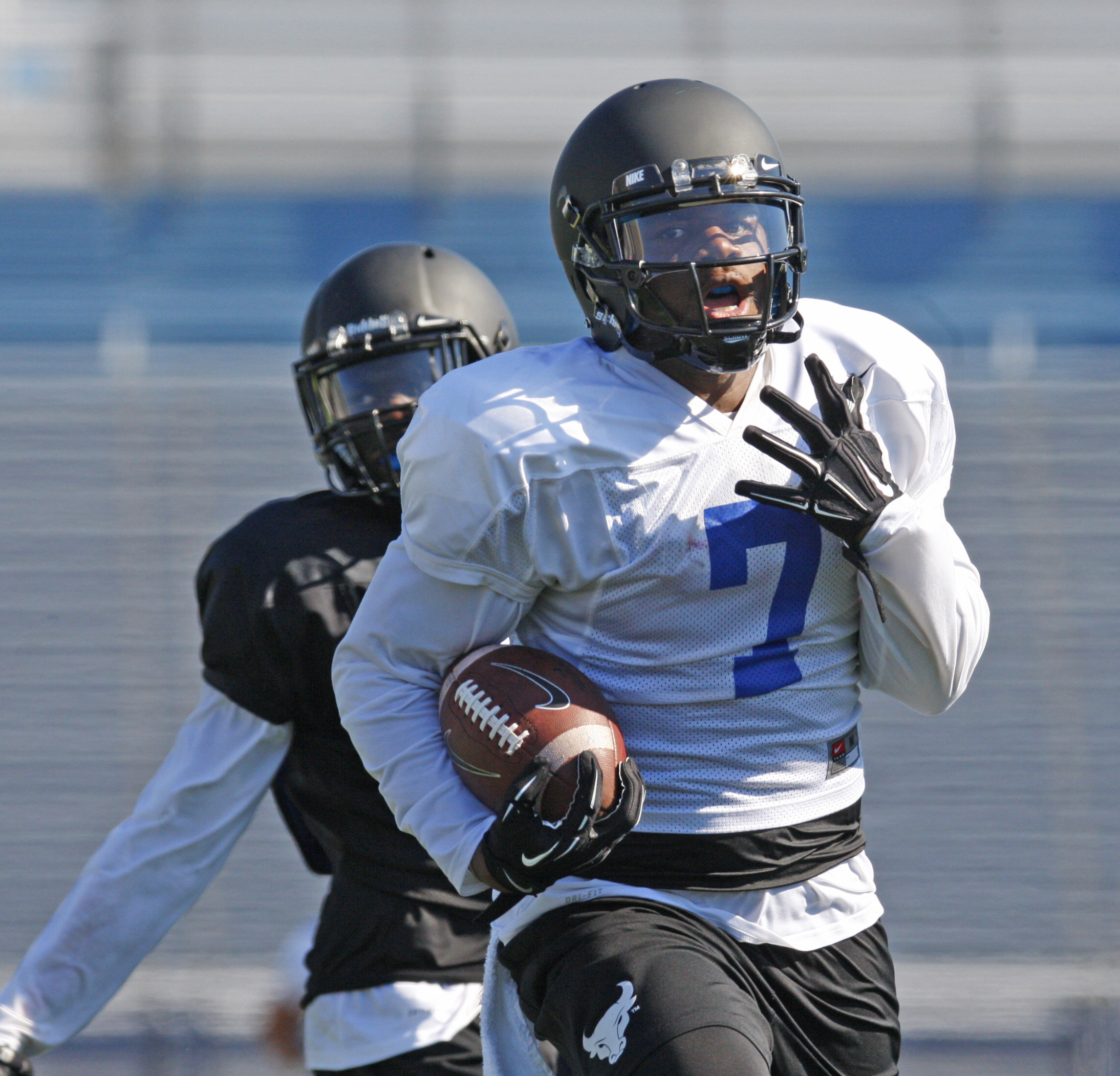 UB needs to get WR Marcus McGill going. (Harry Scull Jr./Buffalo News)