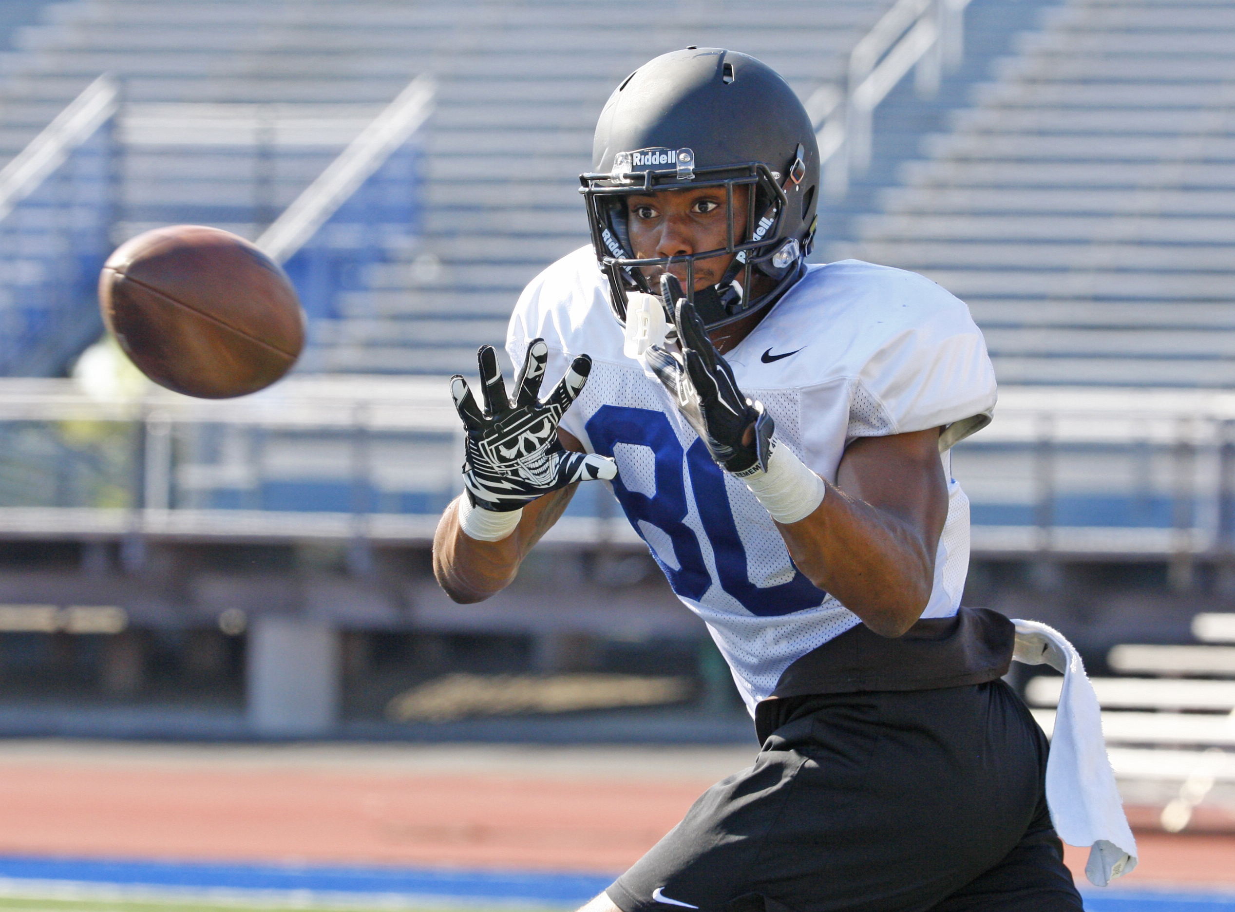 Malcolm Robinson is a player to watch for UB. (Harry Scull Jr./Buffalo News)