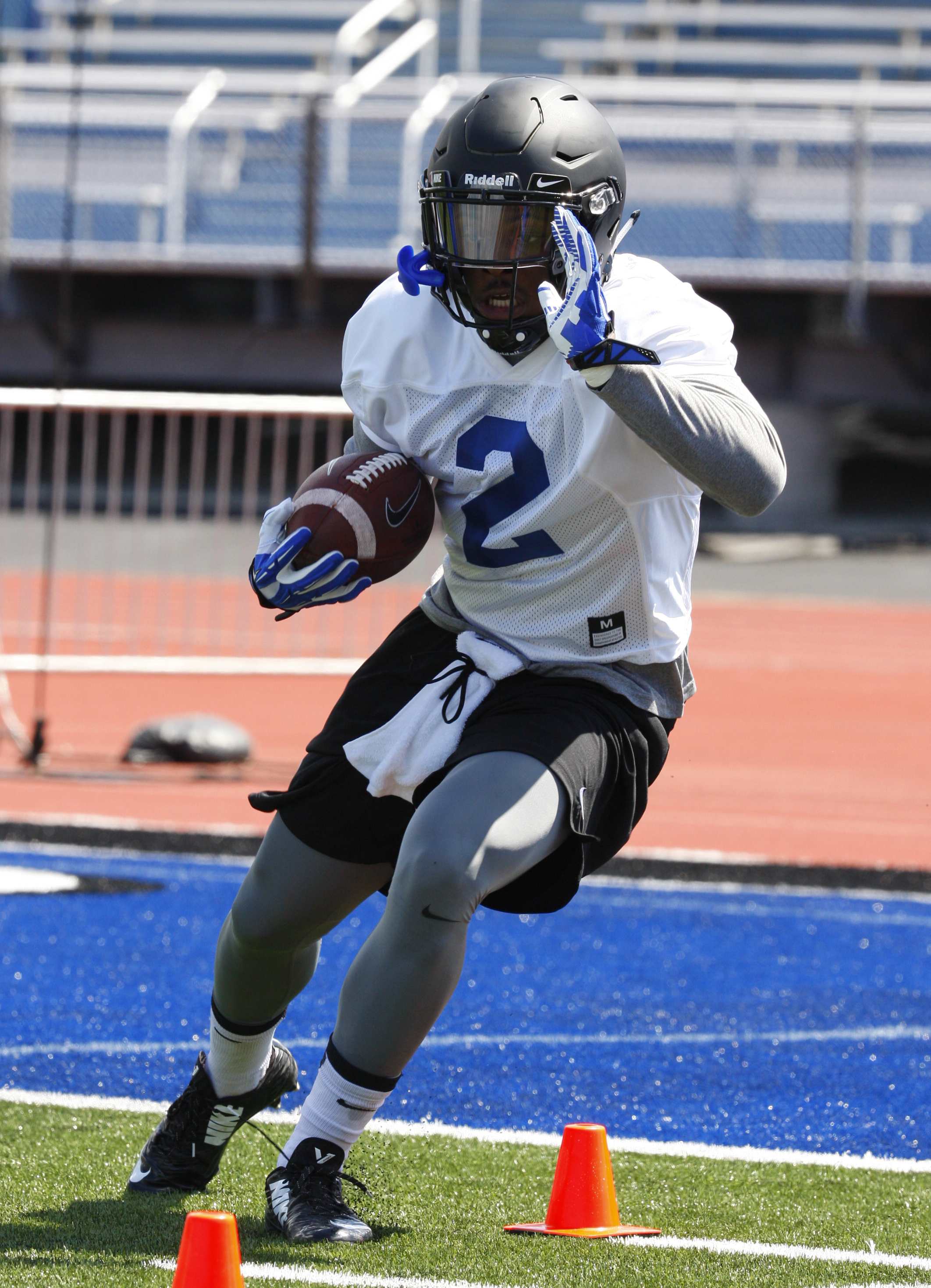 UB RB Jordan Johnson (Harry Scull Jr./Buffalo News)