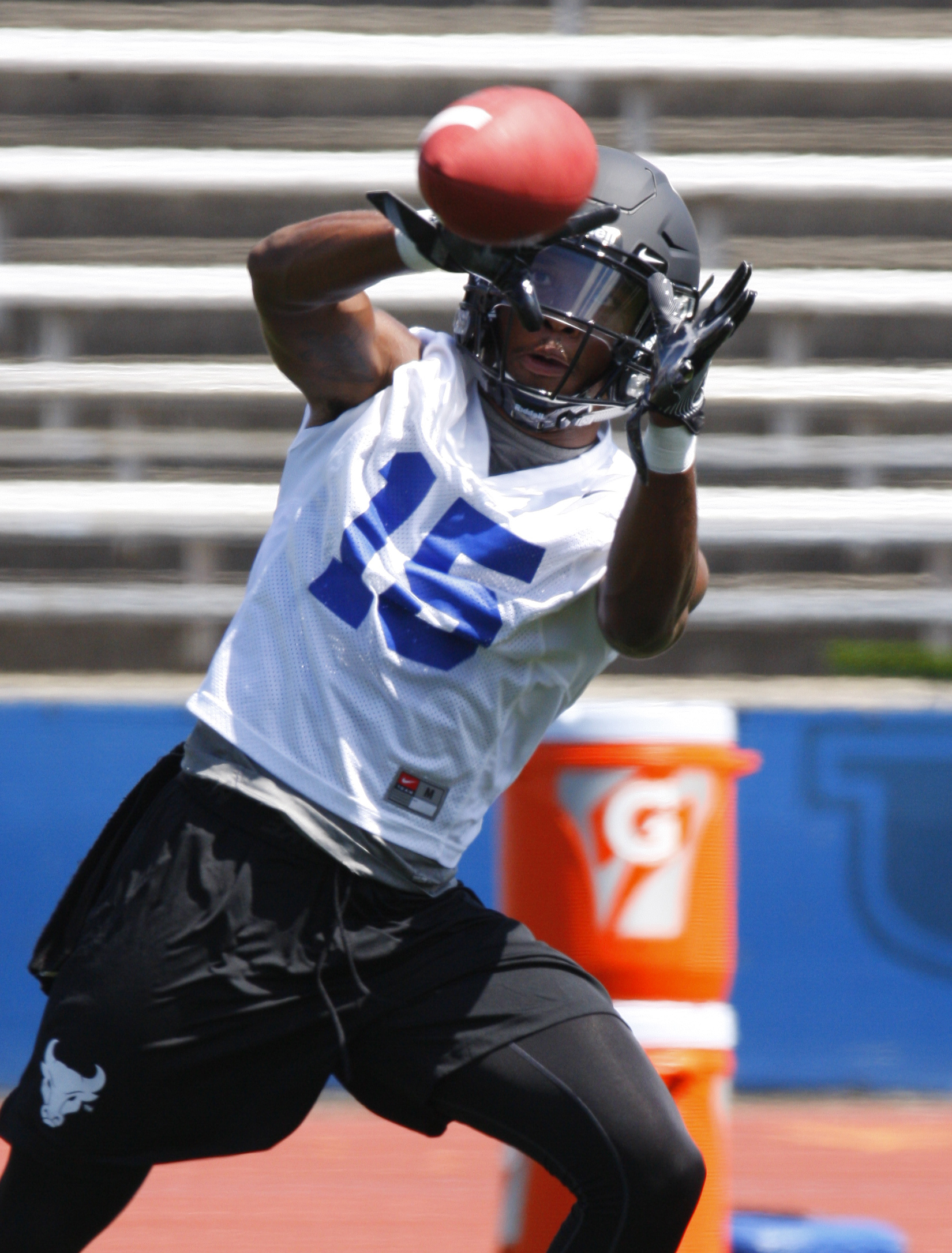 Jamarl Eiland is the punt return candidate for UB. (Harry Scull Jr./Buffalo News)