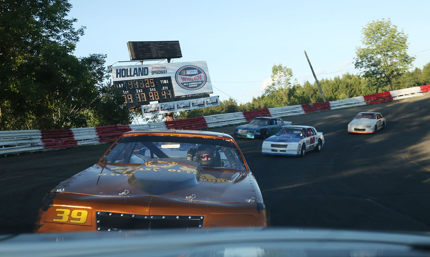 Holland Motorsports Complex has been around since 1960. (Sharon Cantillon/Buffalo News)