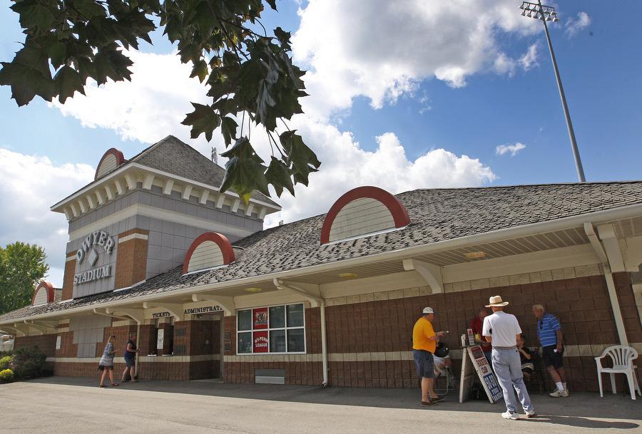 Batavia's Dwyer Stadium. (Harry Scull Jr./Buffalo News)